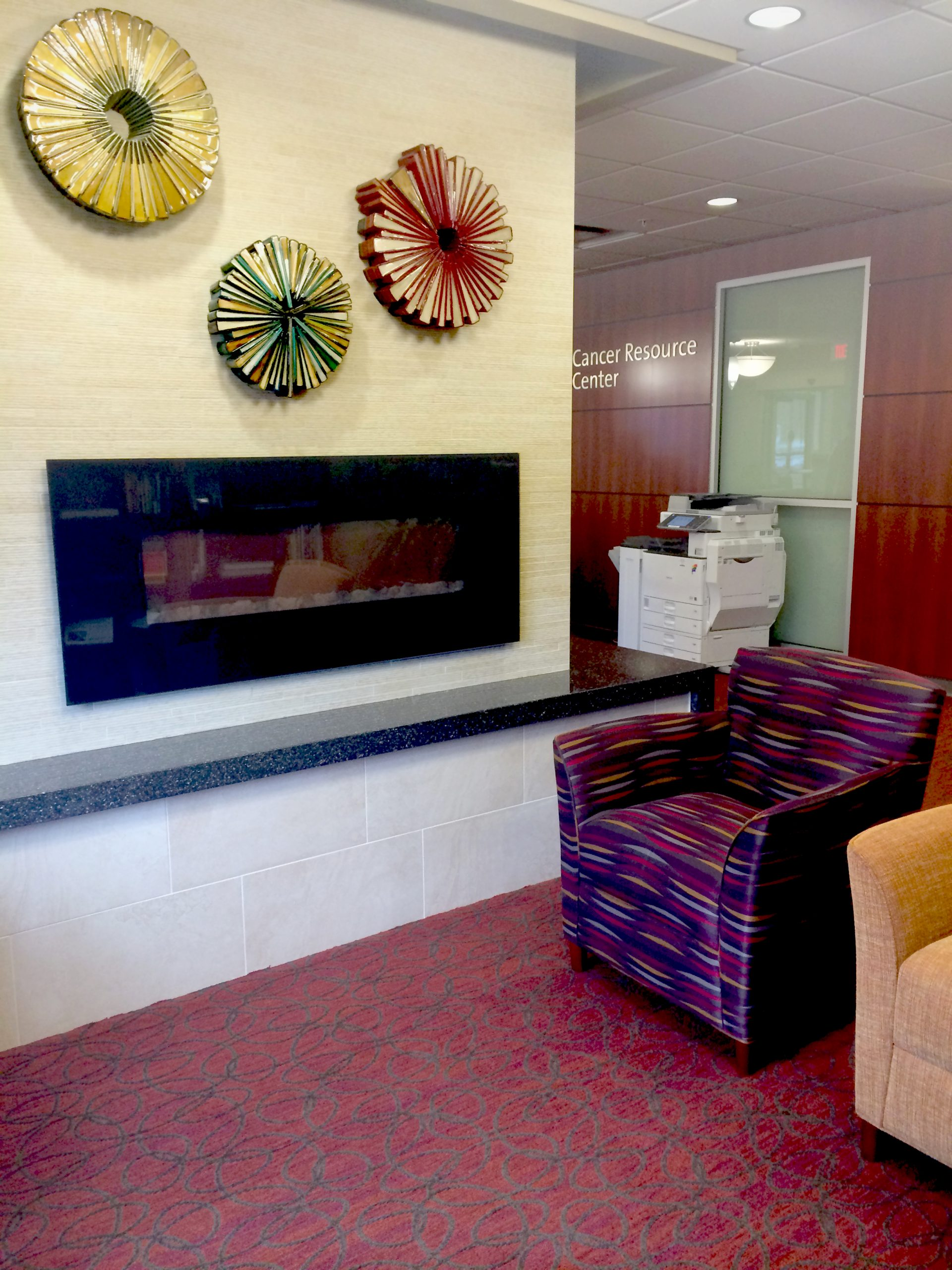 Miami Valley Hospital Interior Design