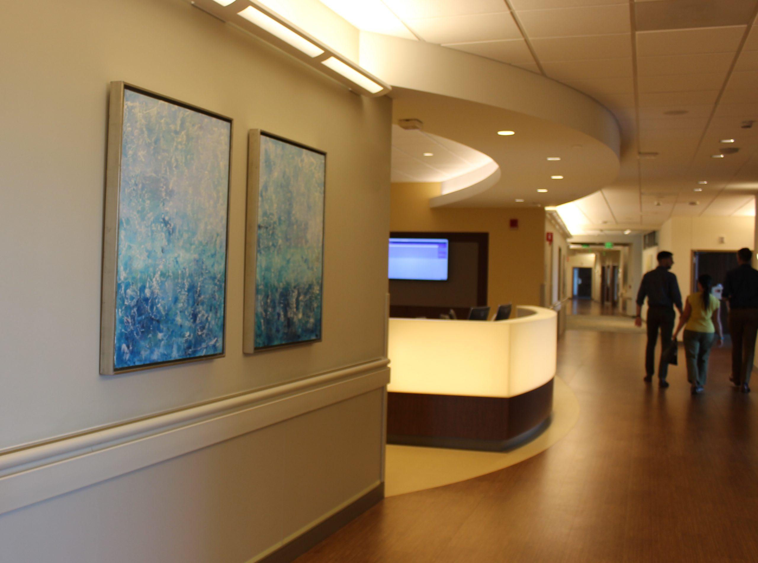 Stamford Hospital, Encaustic and Oil paintings
