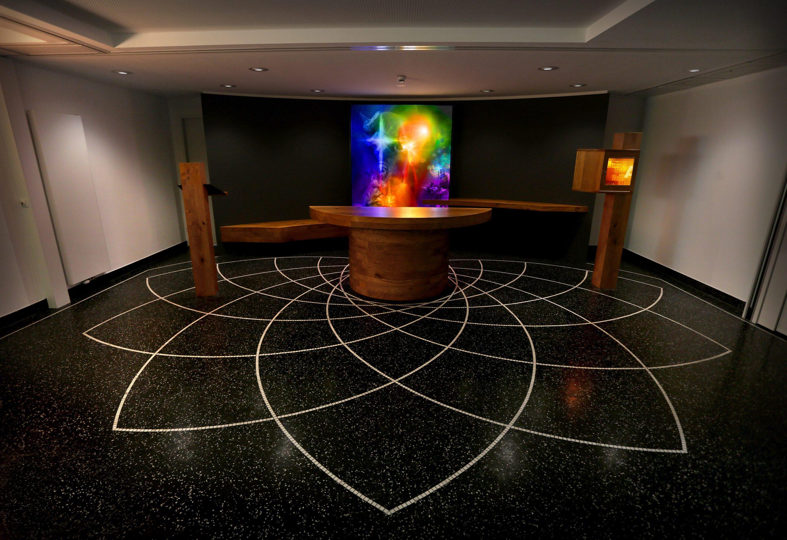 Peace Chapel | Lord's Prayer of light
