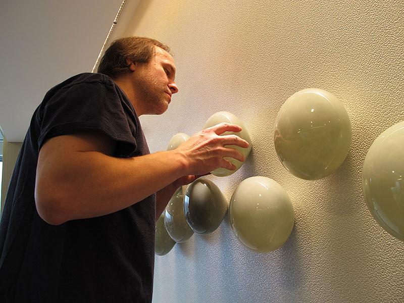 Art Glass Wall Sculpture