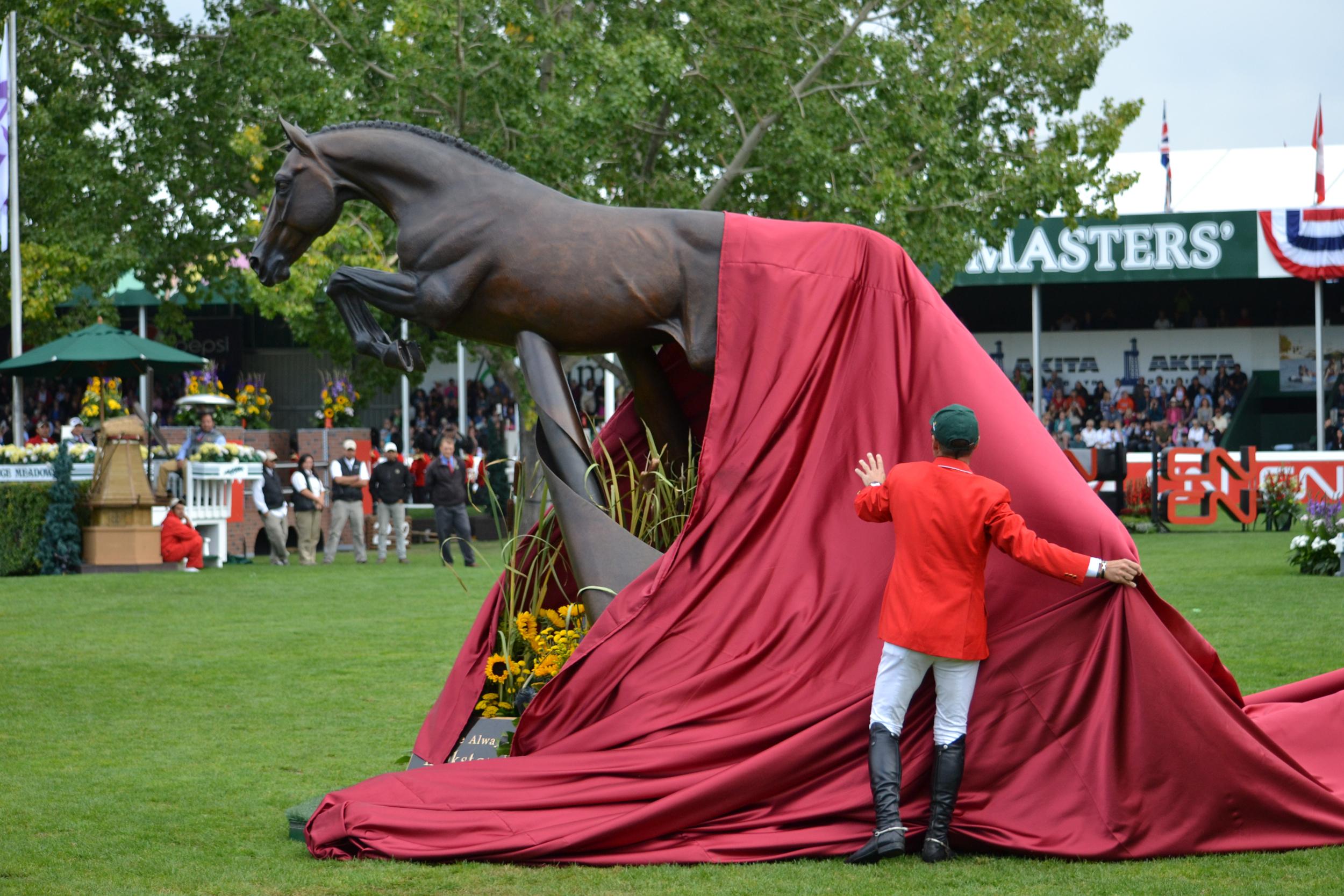 Hickstead Statue – Spruce Meadows