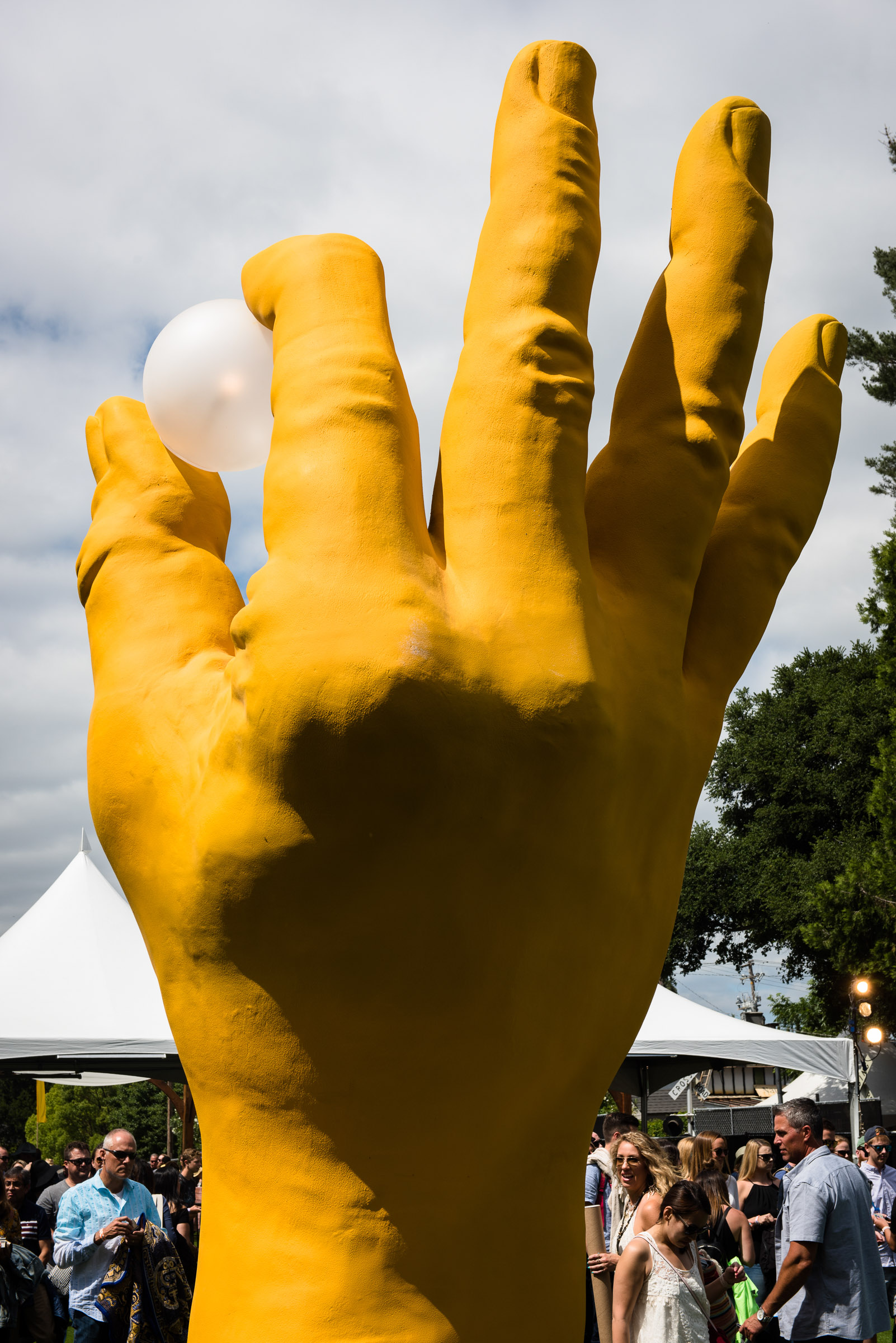 The Hand of The Land