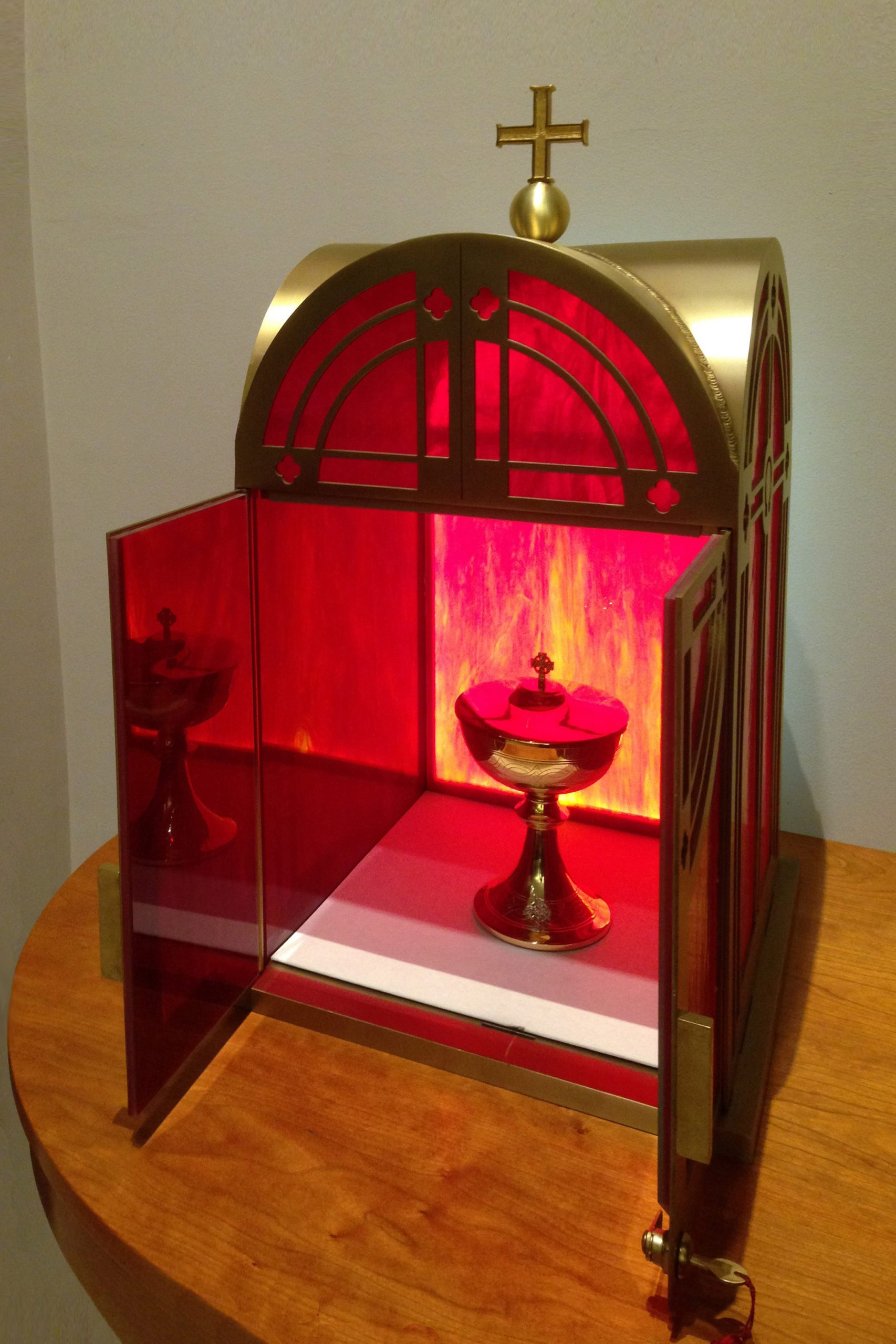 Glass Tabernacle