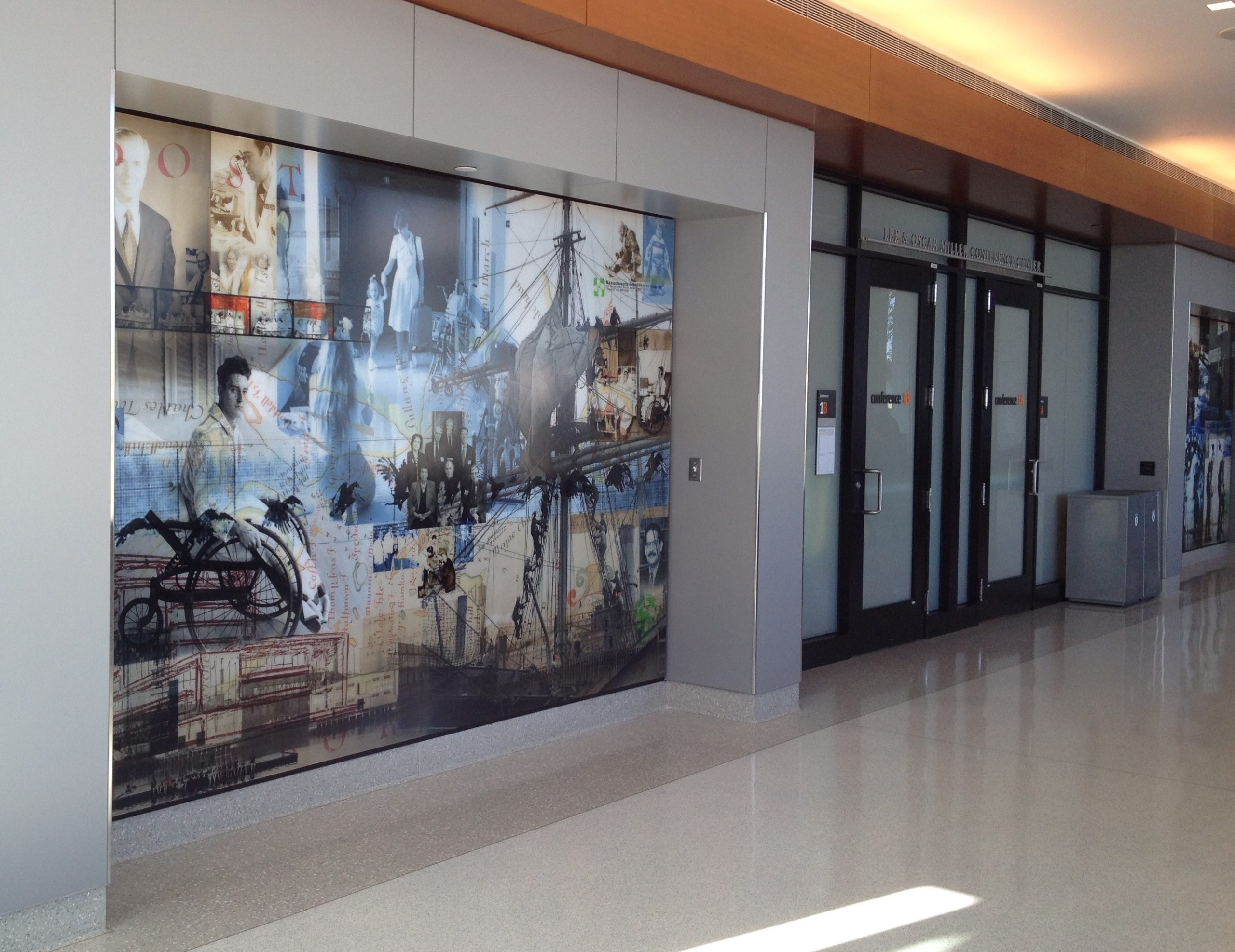 Spaulding Rehabilitation Lobby Art