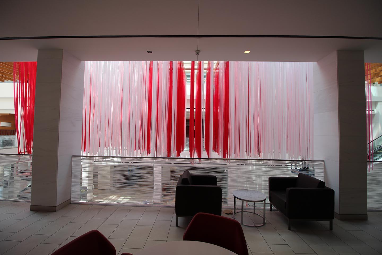 Canadian Flag Art Installation, Toronto