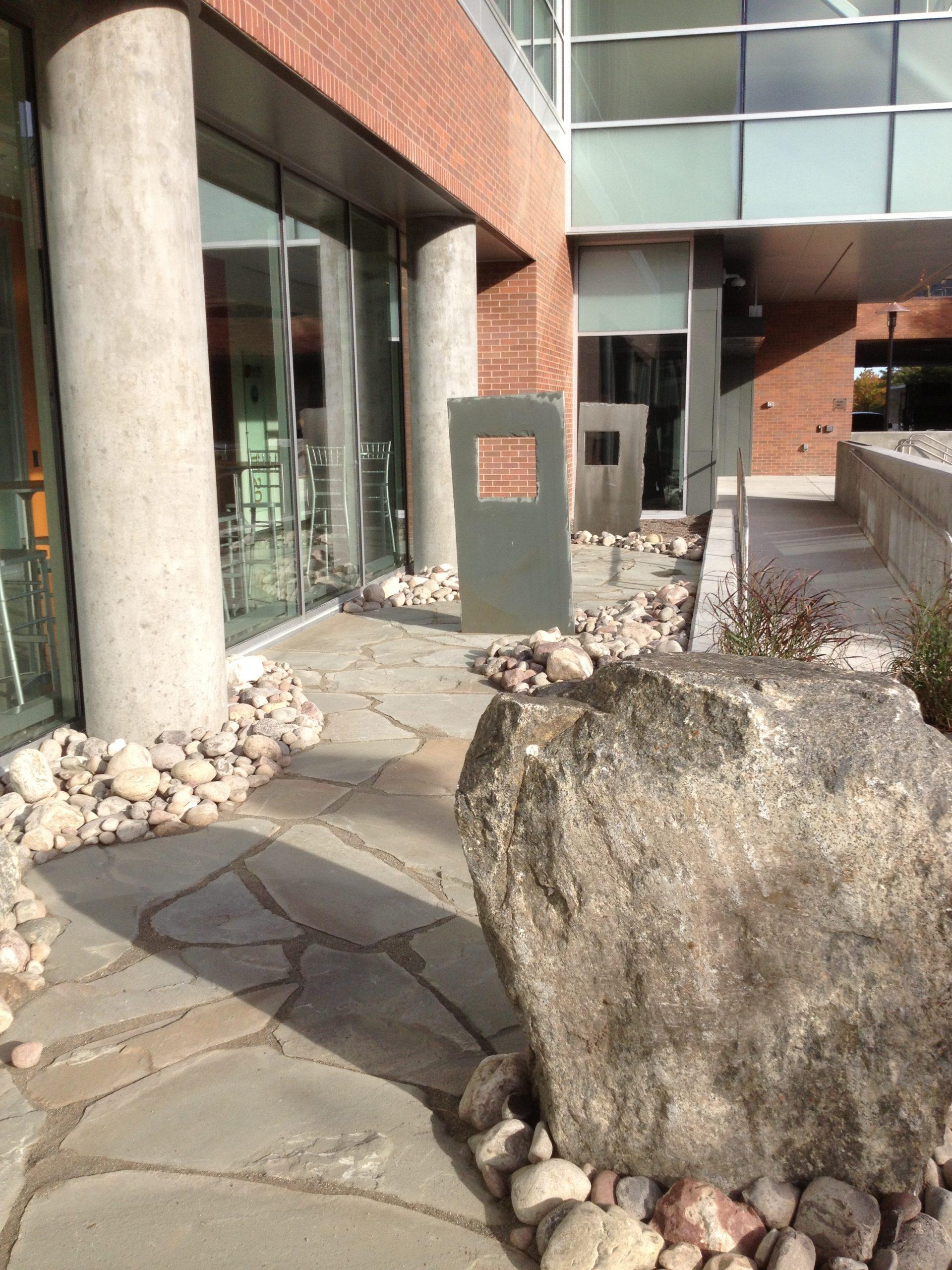 RIT / NTID Rosica Hall Meditation Garden