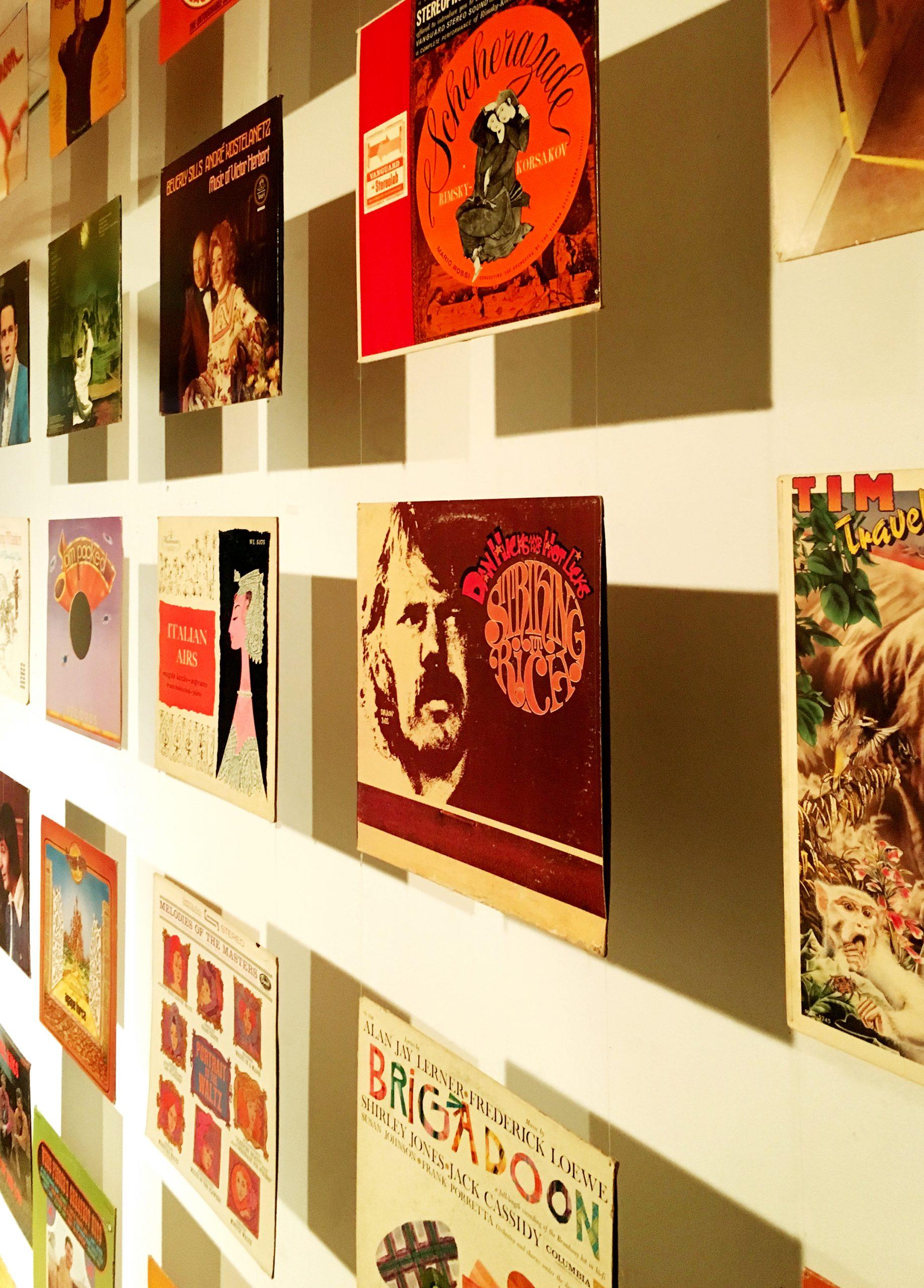Pop-Up Community Record Shop   Listening Room