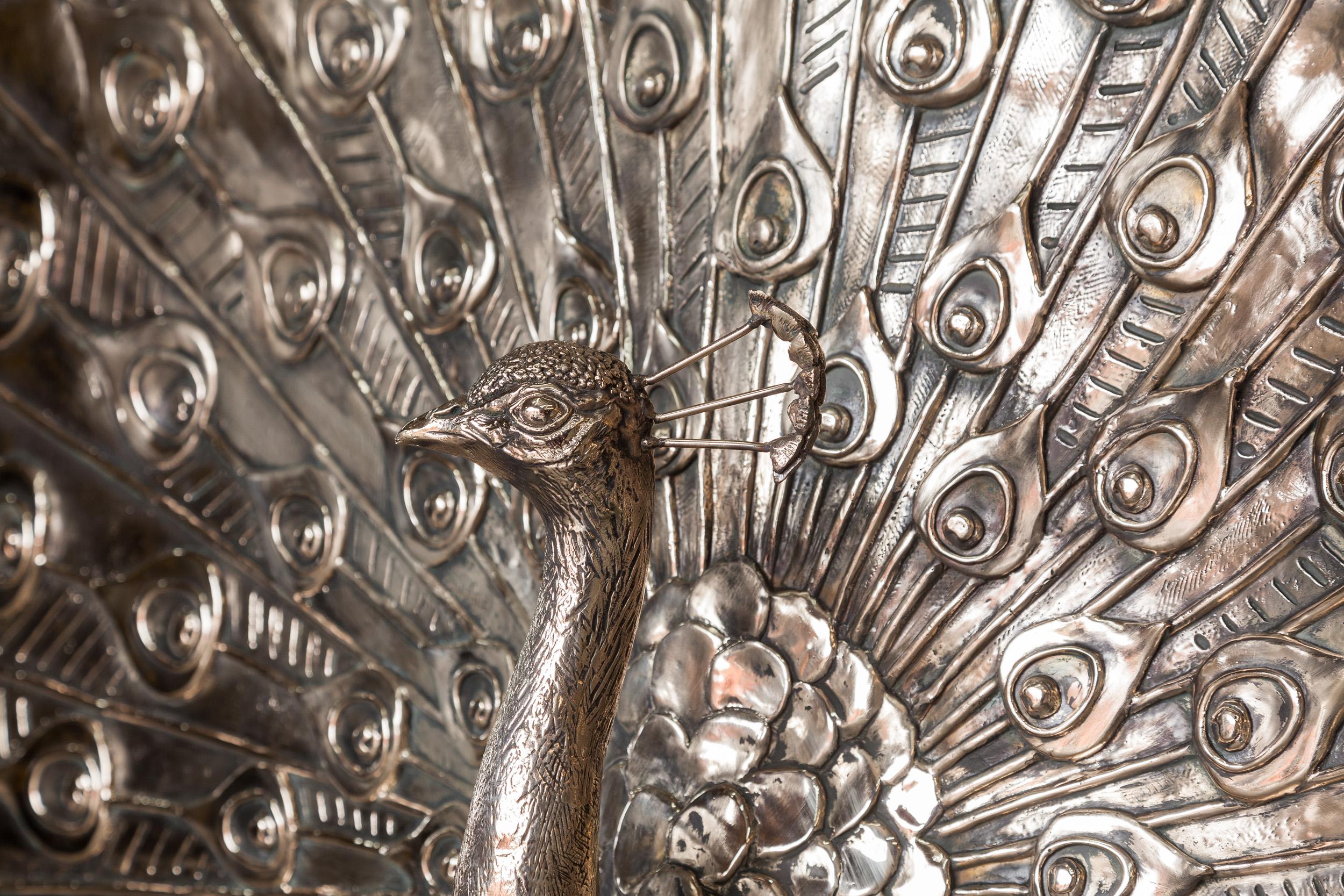 Wynn Palace Cotai, Bronze Peacock