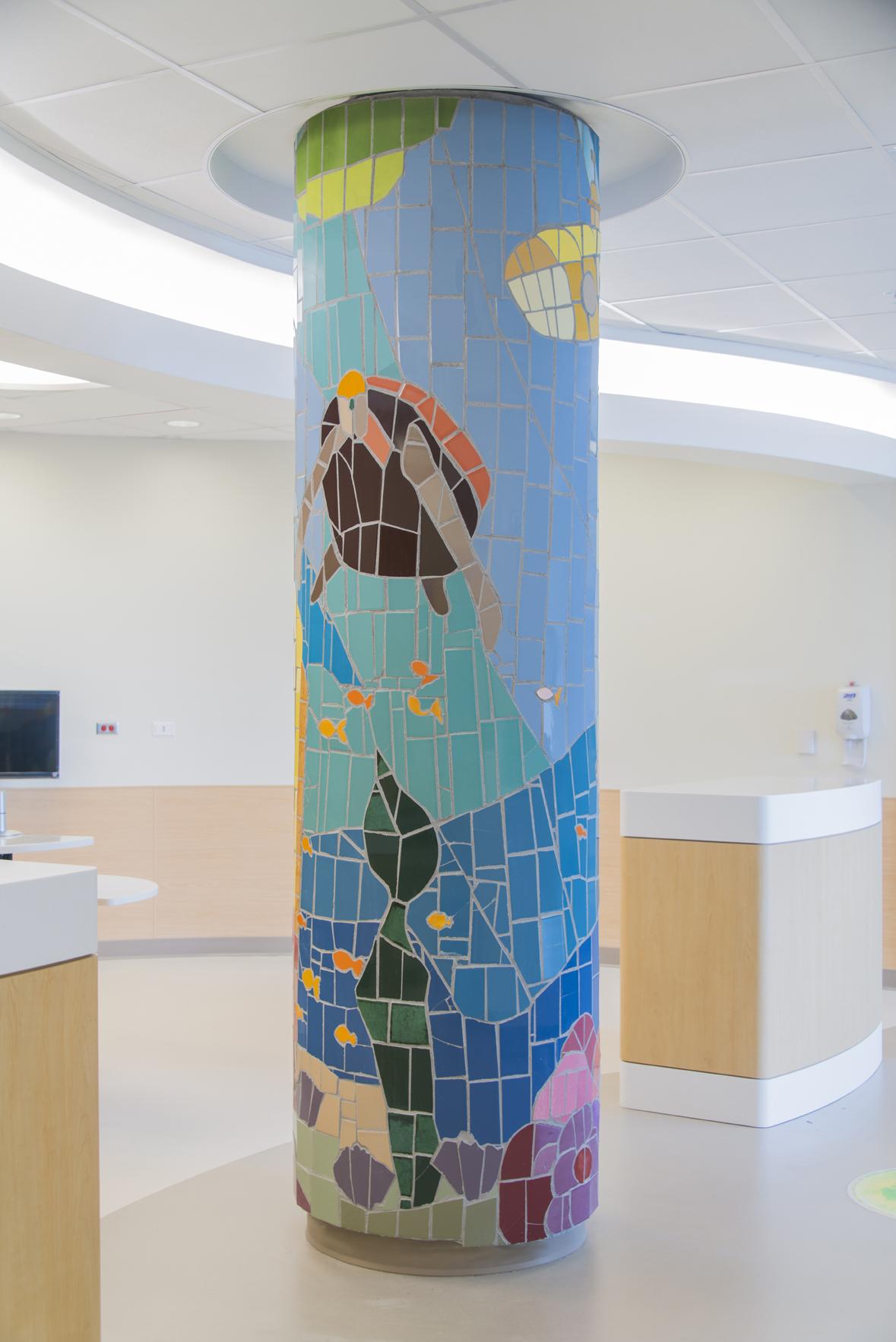 Nemours DuPont Children's Hospital Columns