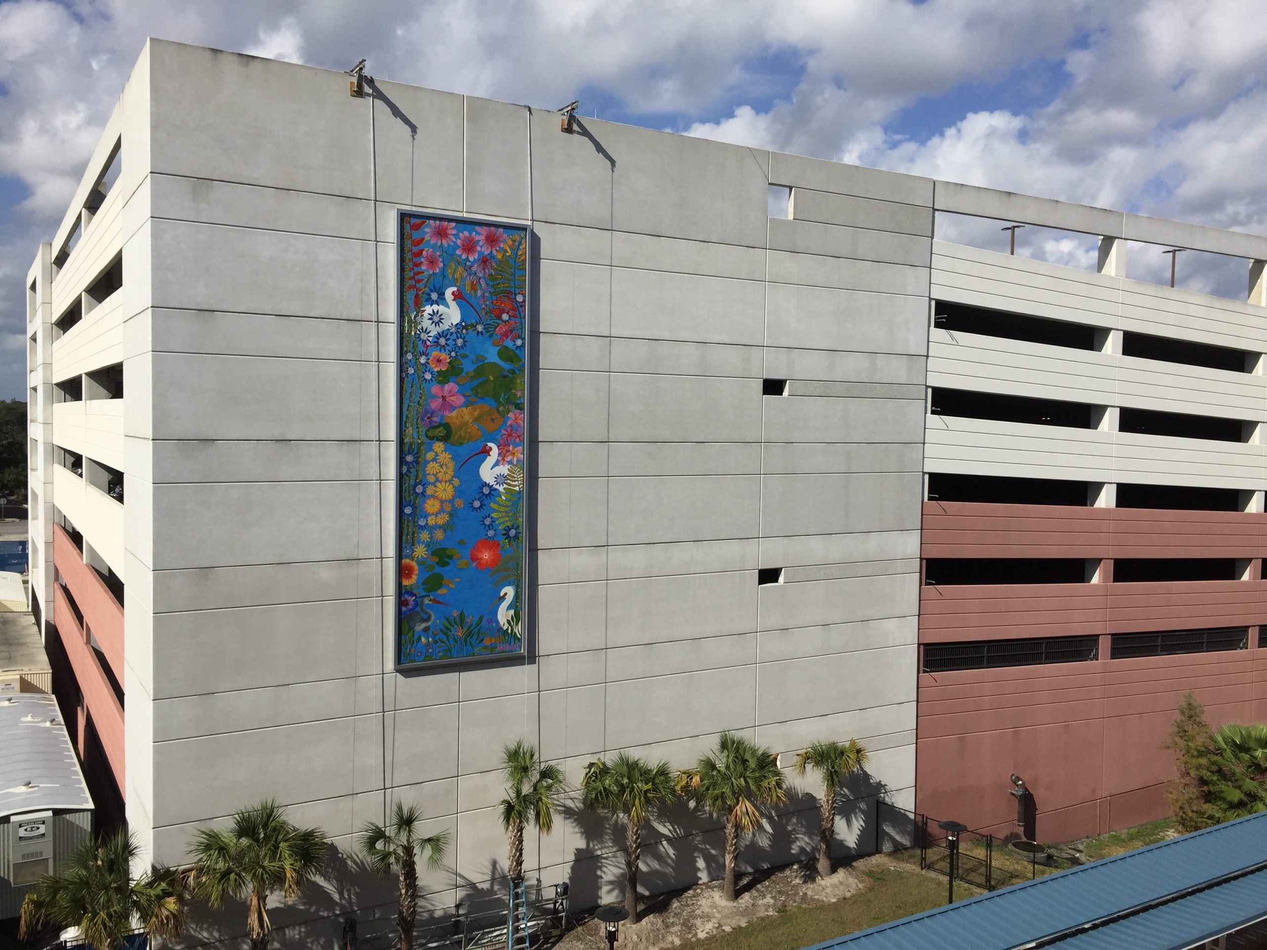 McRae Parking Garage – SunRail Station Mural
