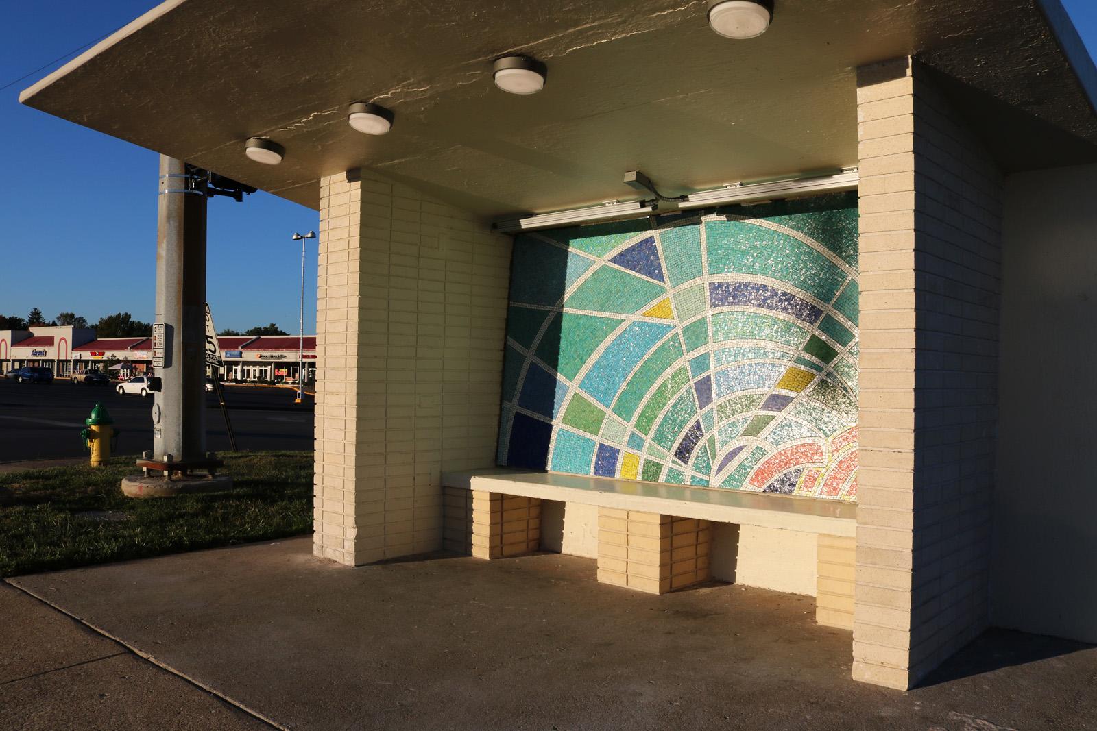 South Beach bus shelter