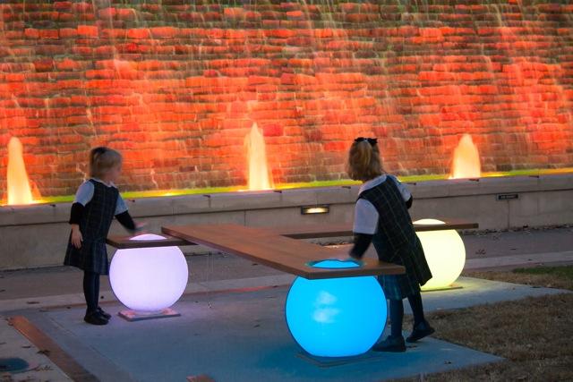 Light Balls Bench