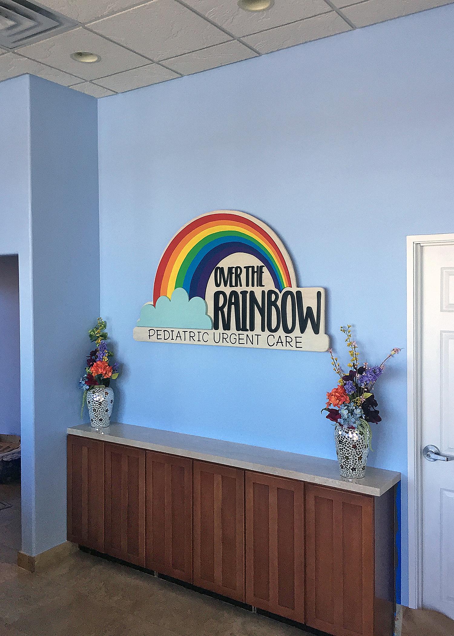 Rainbow Village Mural