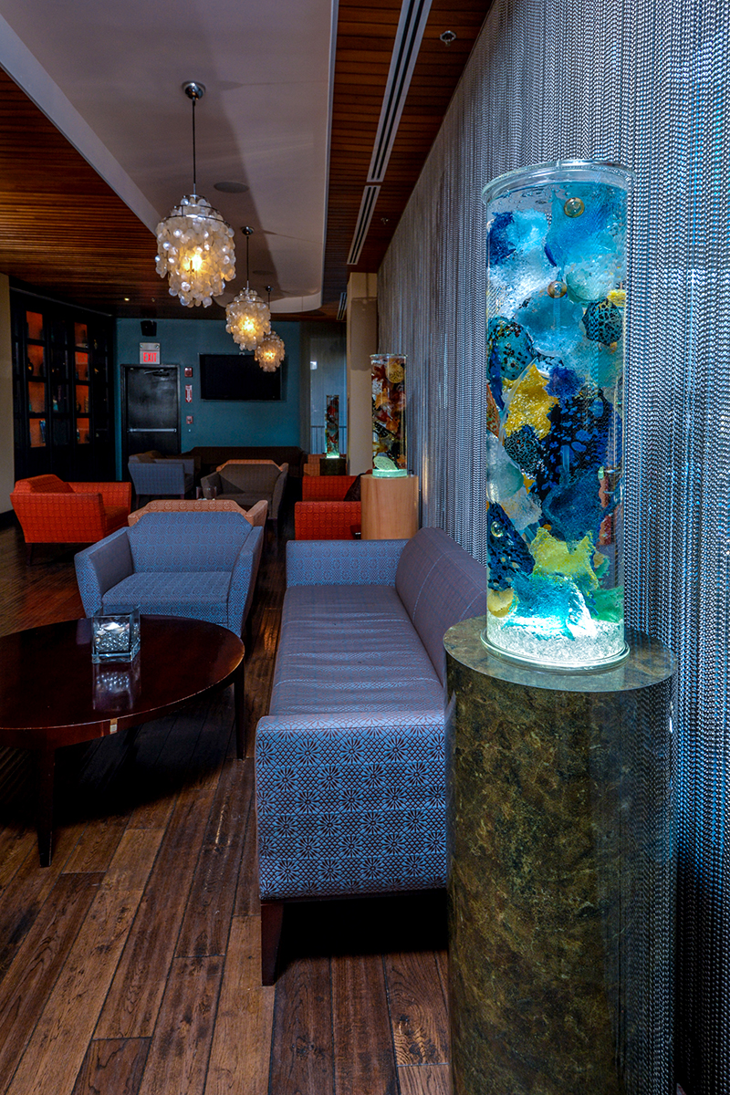 Sea Core Kinetic Glass