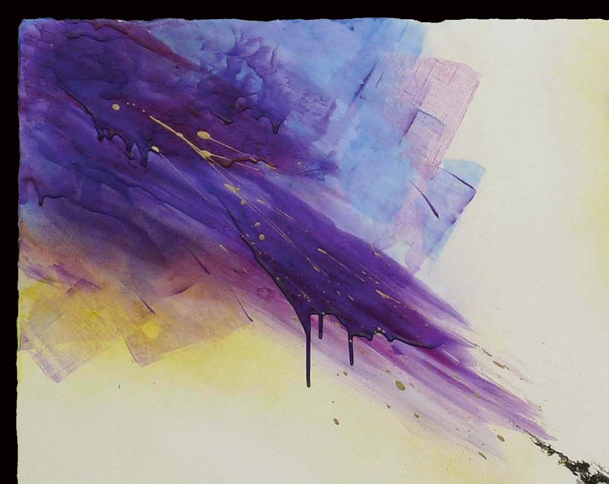 """""""Amazing Grace,"""" Abstract Spiritual Painting for Private Collector"""