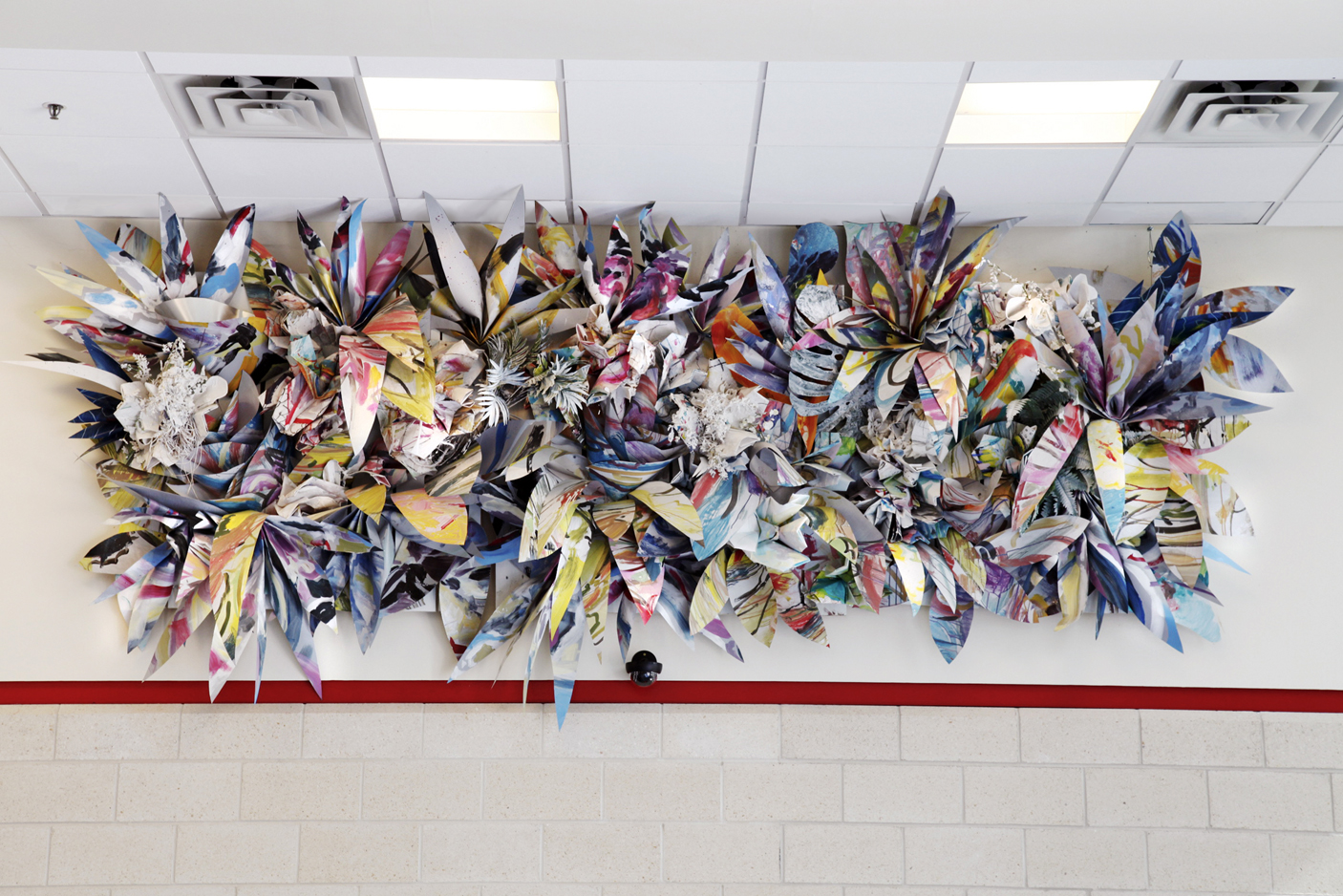 Site-Specific Wall Sculpture