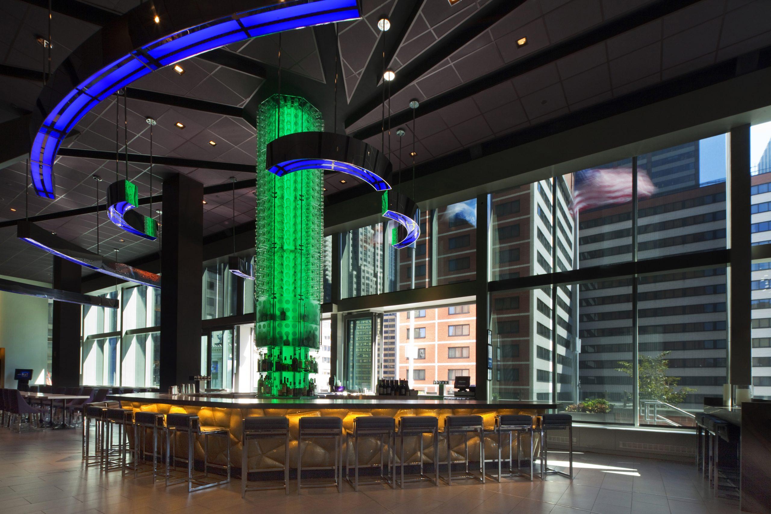Supernova Bar at the Hotel Novotel New York Times Square