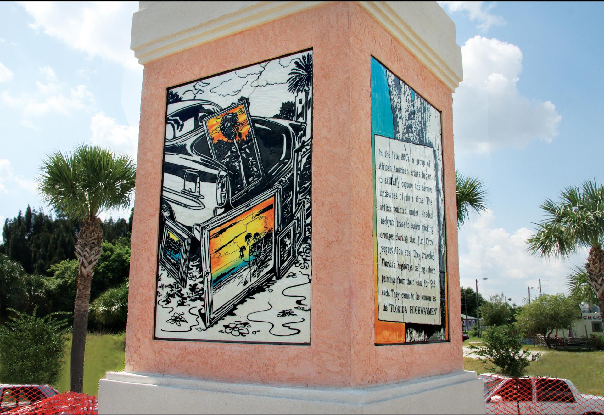 The Florida Highwaymen Obelisk