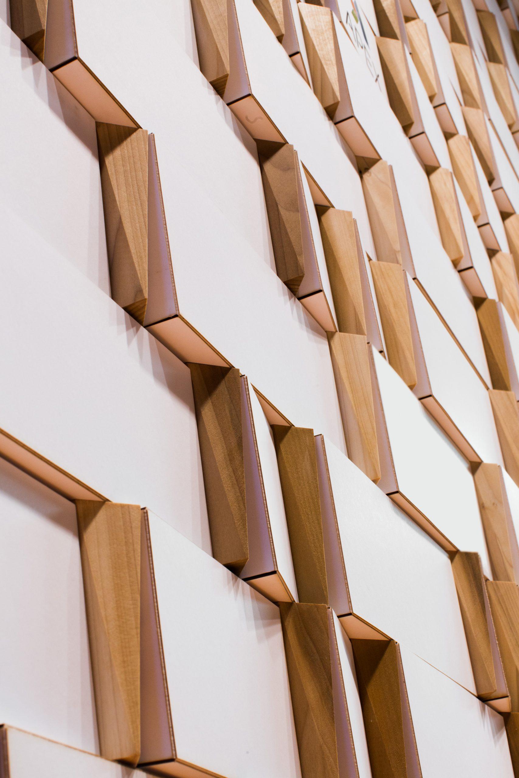 Onward Coworking Reception Wall