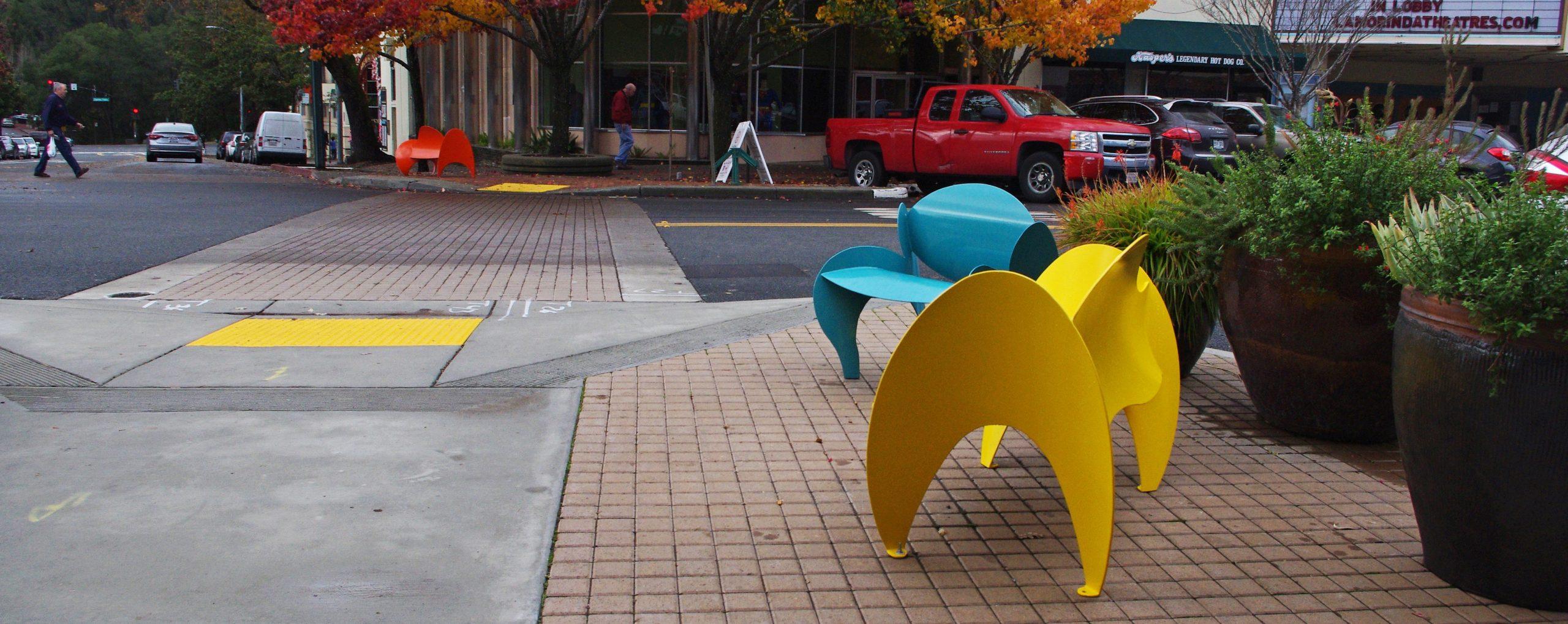 Suburban Streetscape & Plaza