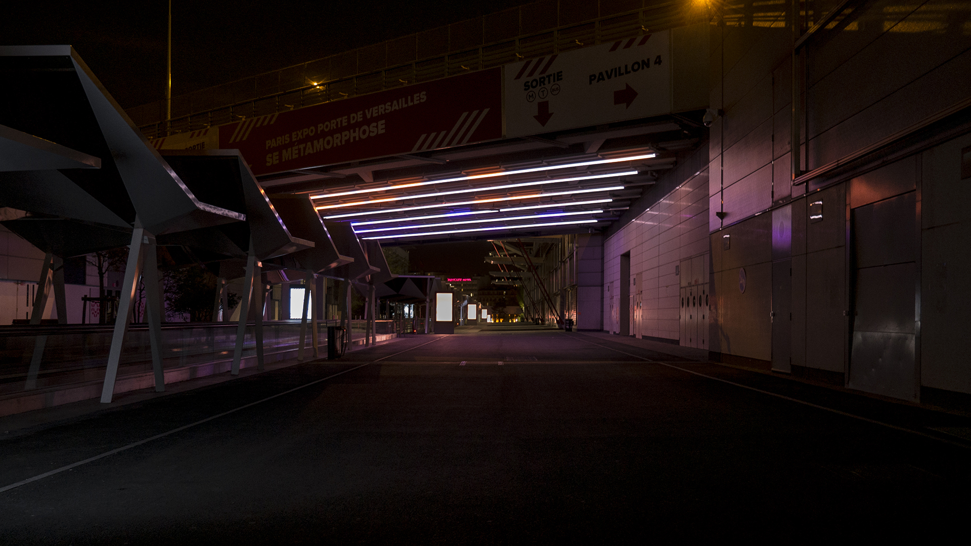 Lighting Installation that reacts to traffic