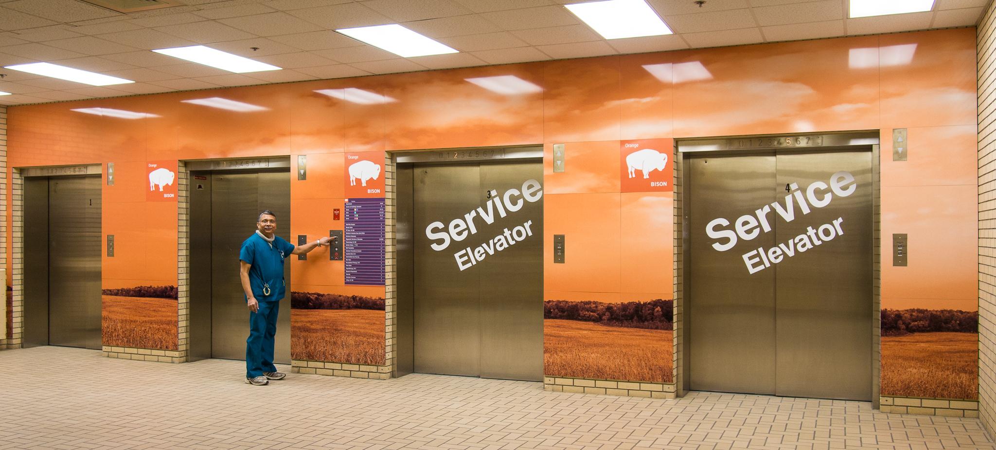 Elevator Lobby Artwork