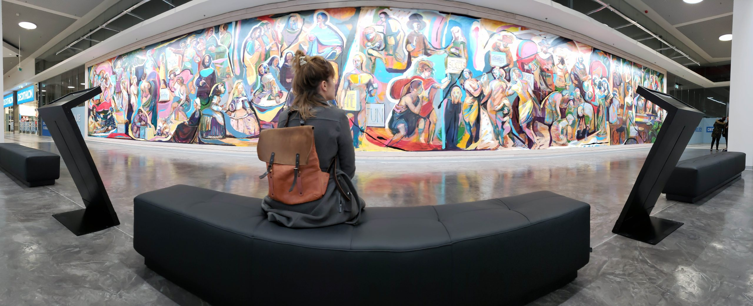 InteractiveMural dedicated to the History of Art