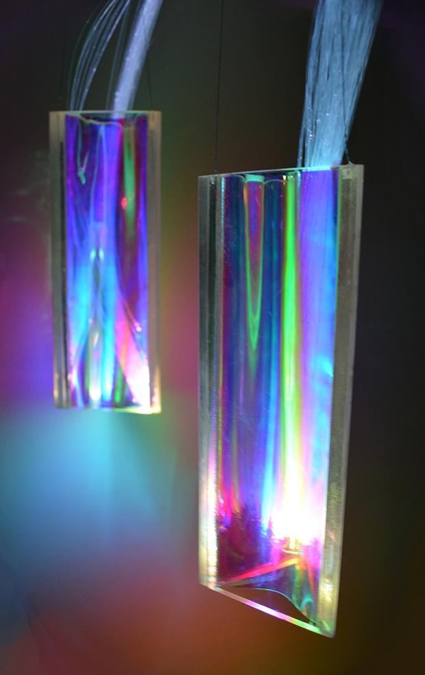 Prizm Series Art Lighting Suspensions