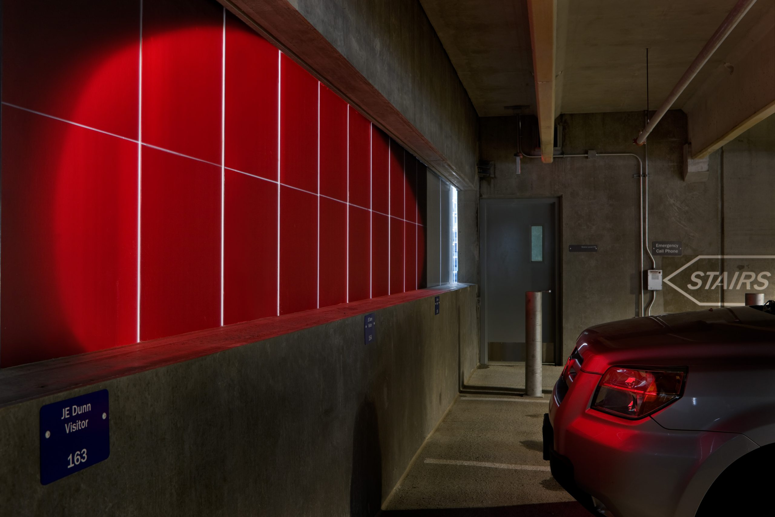 Red Eye   East Village Parking Garage