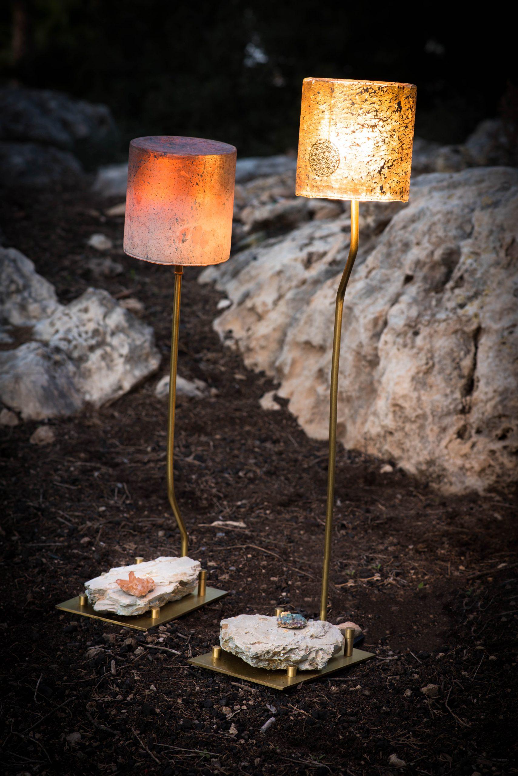 Crystal lighting for spa
