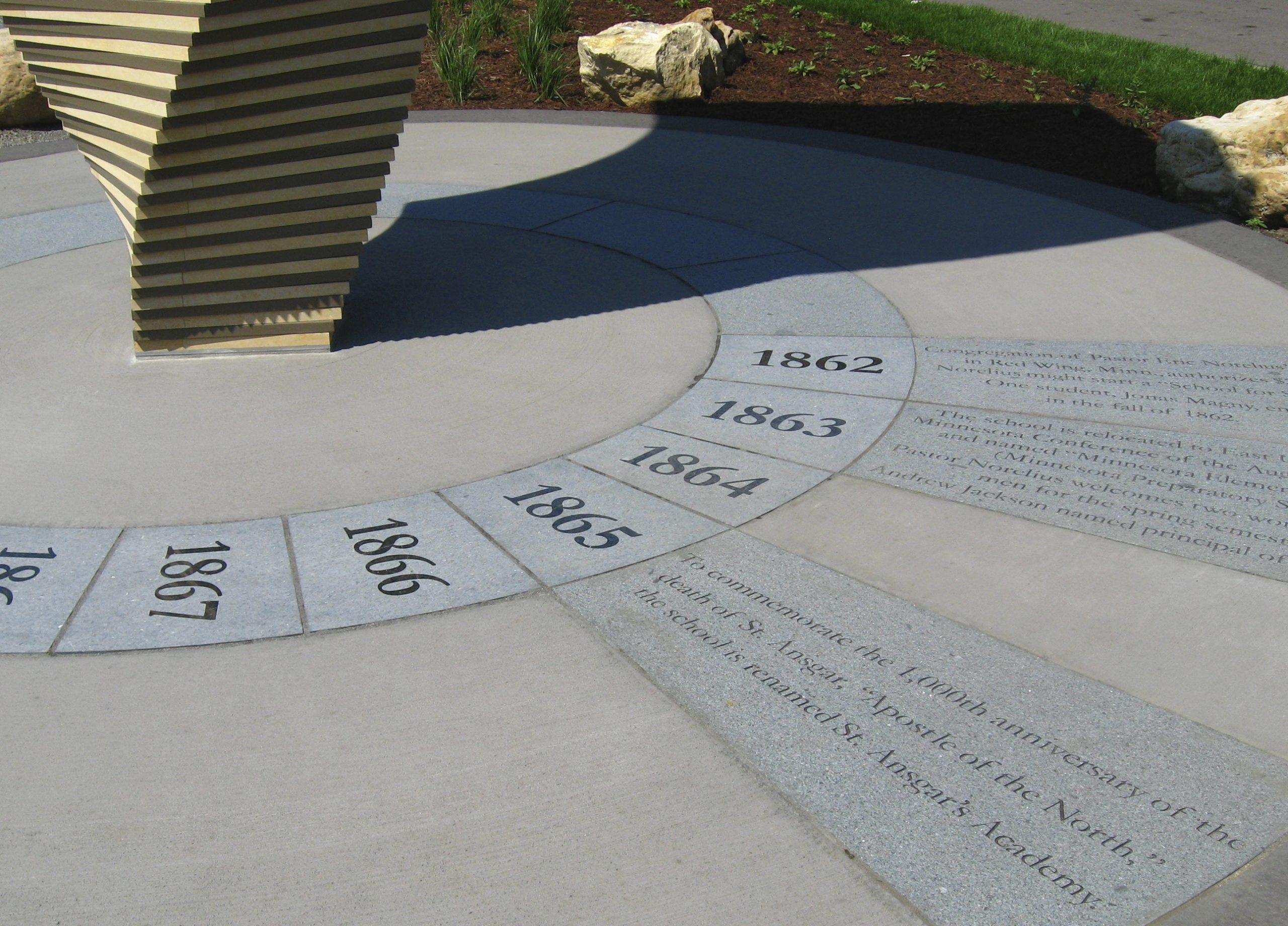 Sesquicentennial Sculpture and Plaza