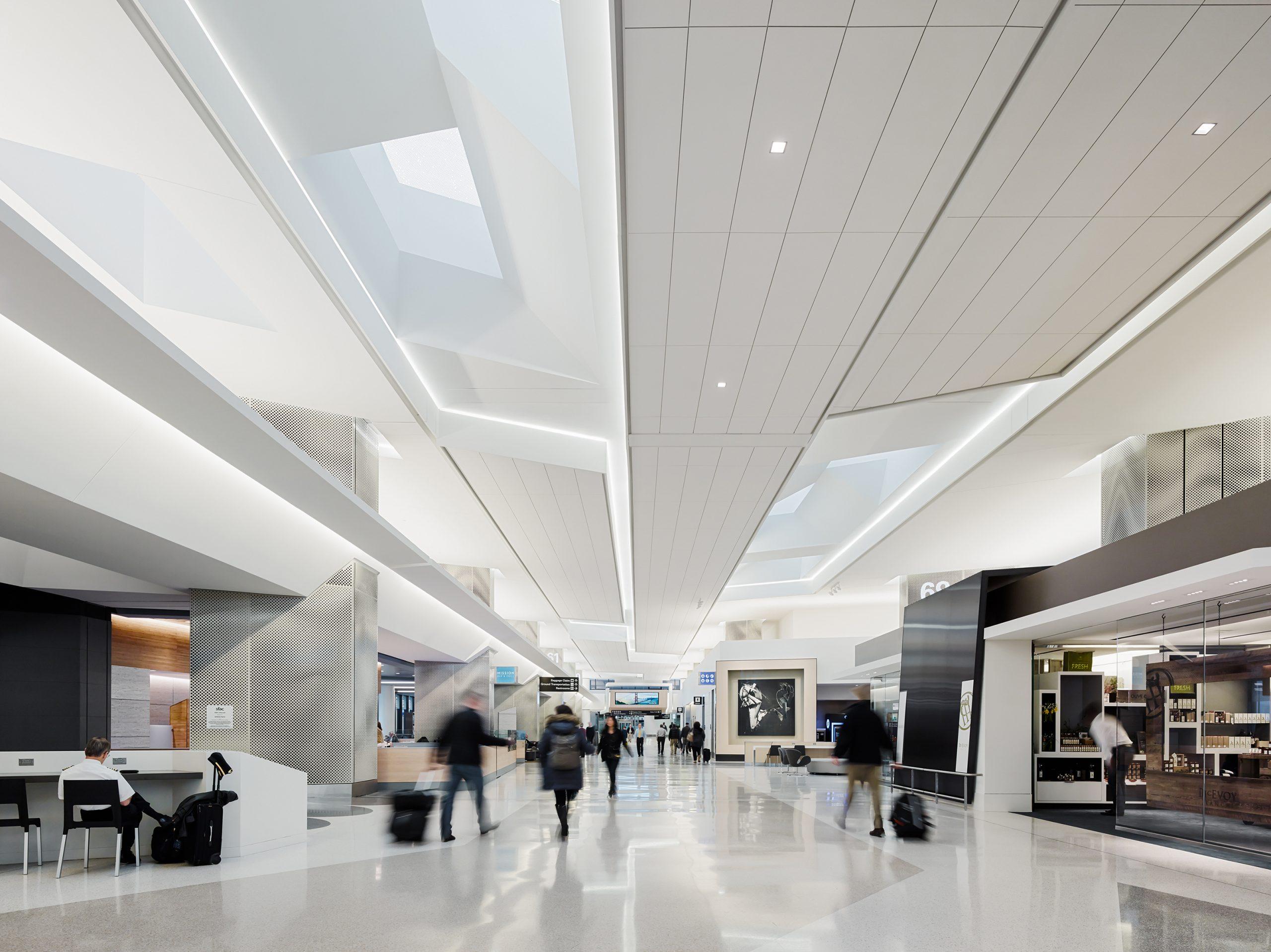 San Francisco International Airport Boarding Area E
