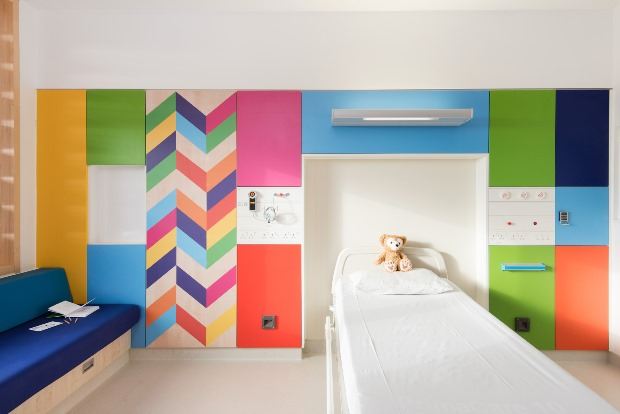 Inpatient Bedrooms and Shared Bays