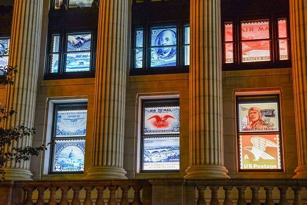 William H. Gross Stamp Gallery at Smithsonian Postal Museum