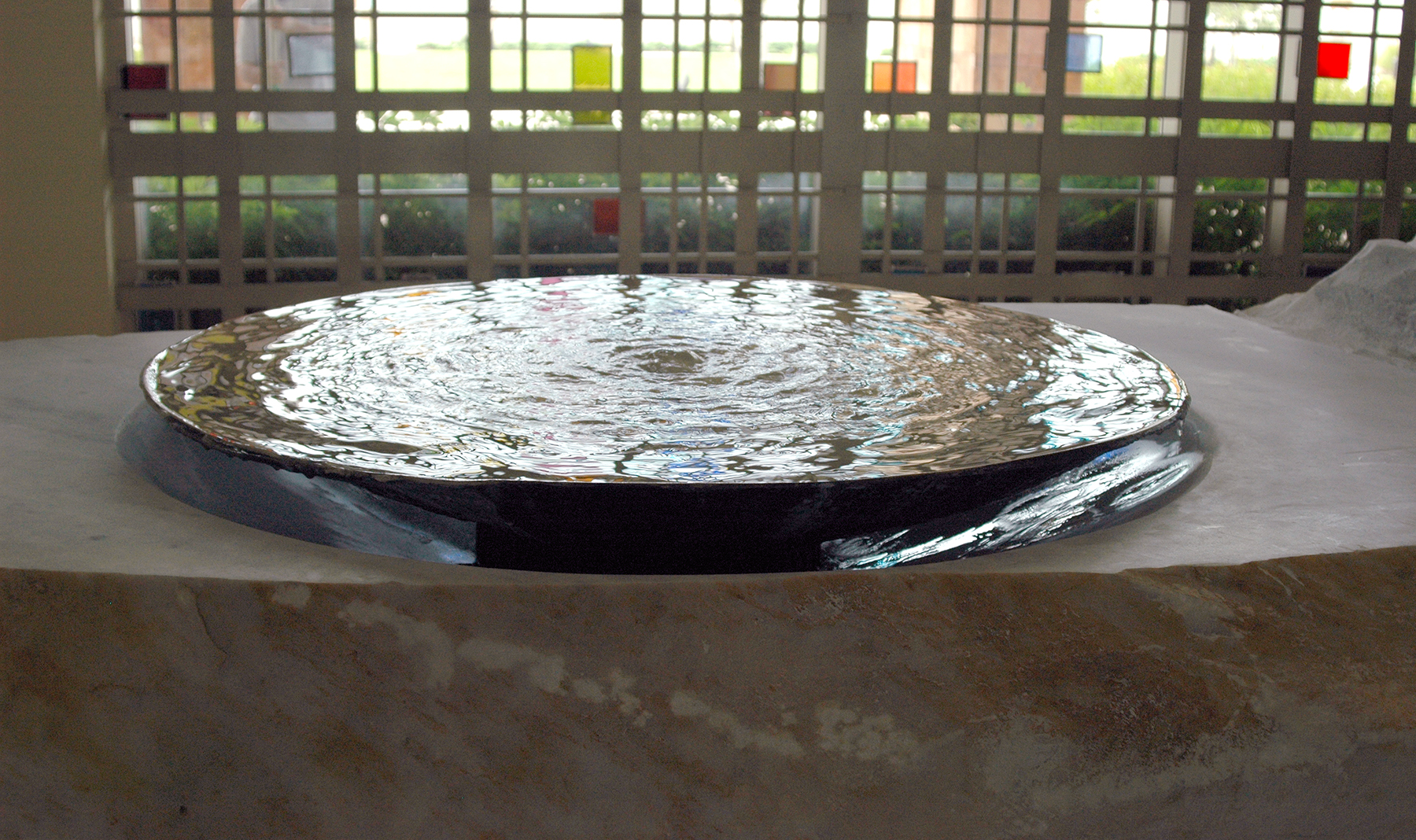 St. Agnes Catholic Church Baptismal: Living Waters