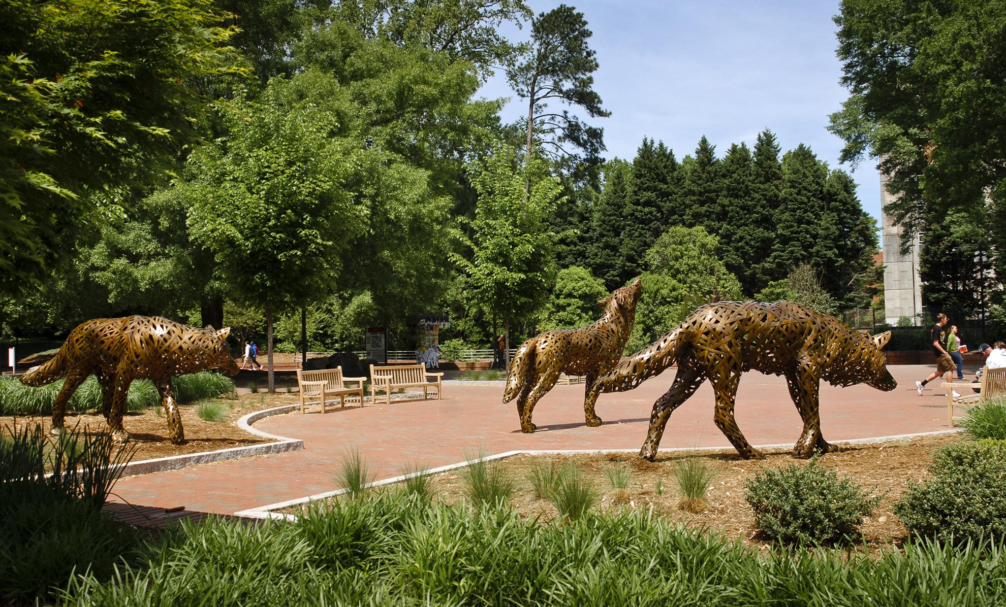 Wolf Plaza