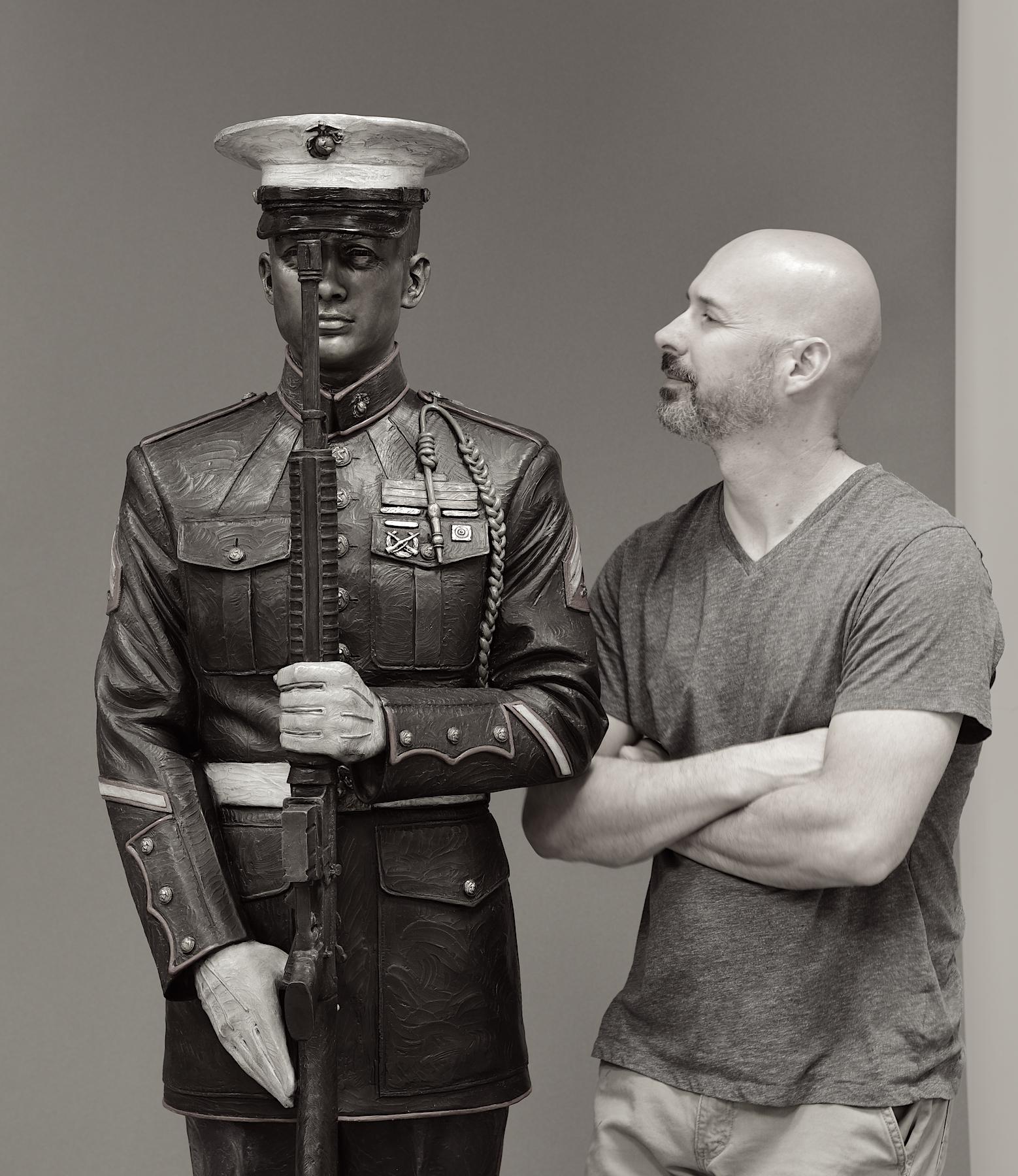 Present Arms, US Marine