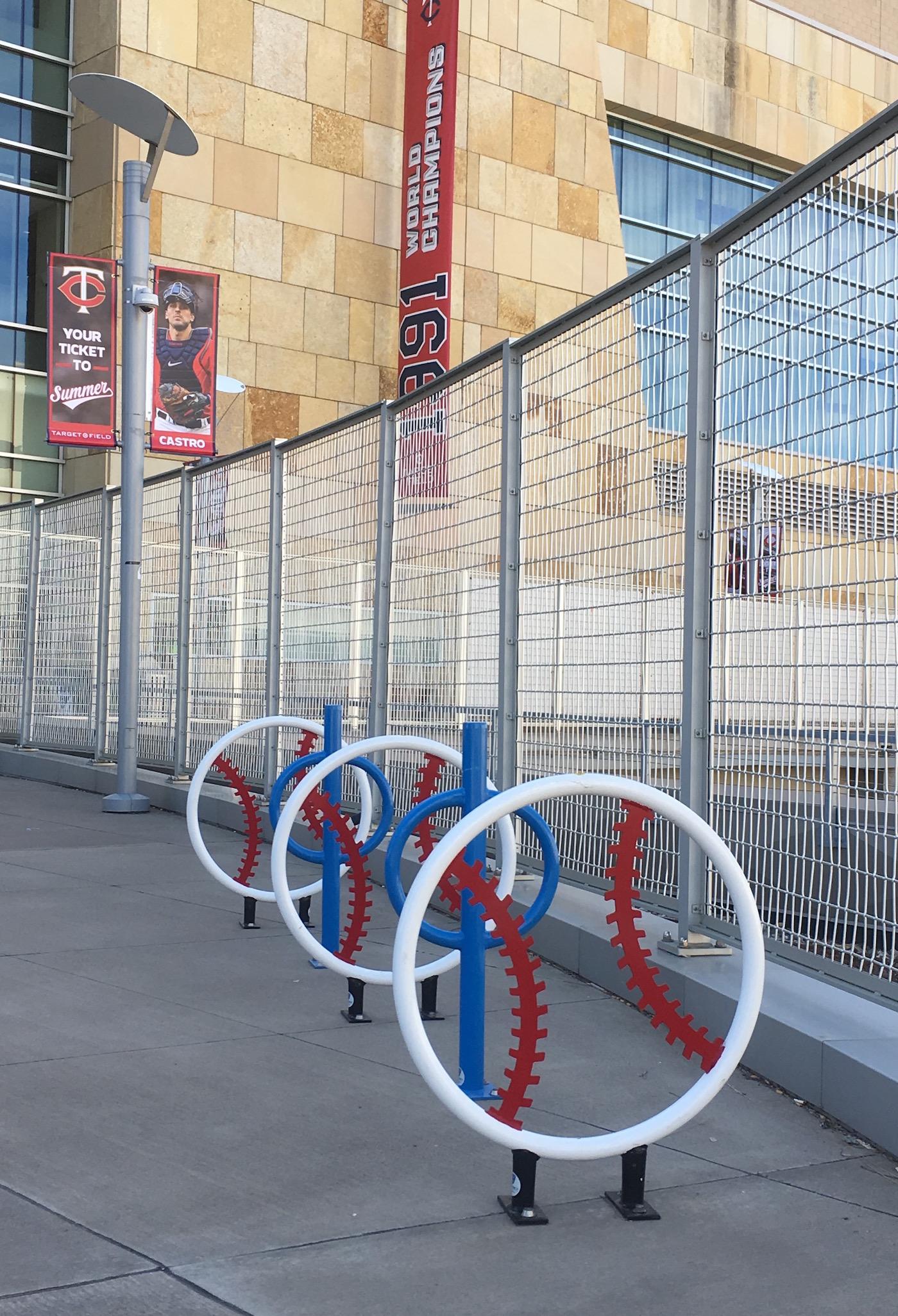 Target Field Station Bicycle Racks
