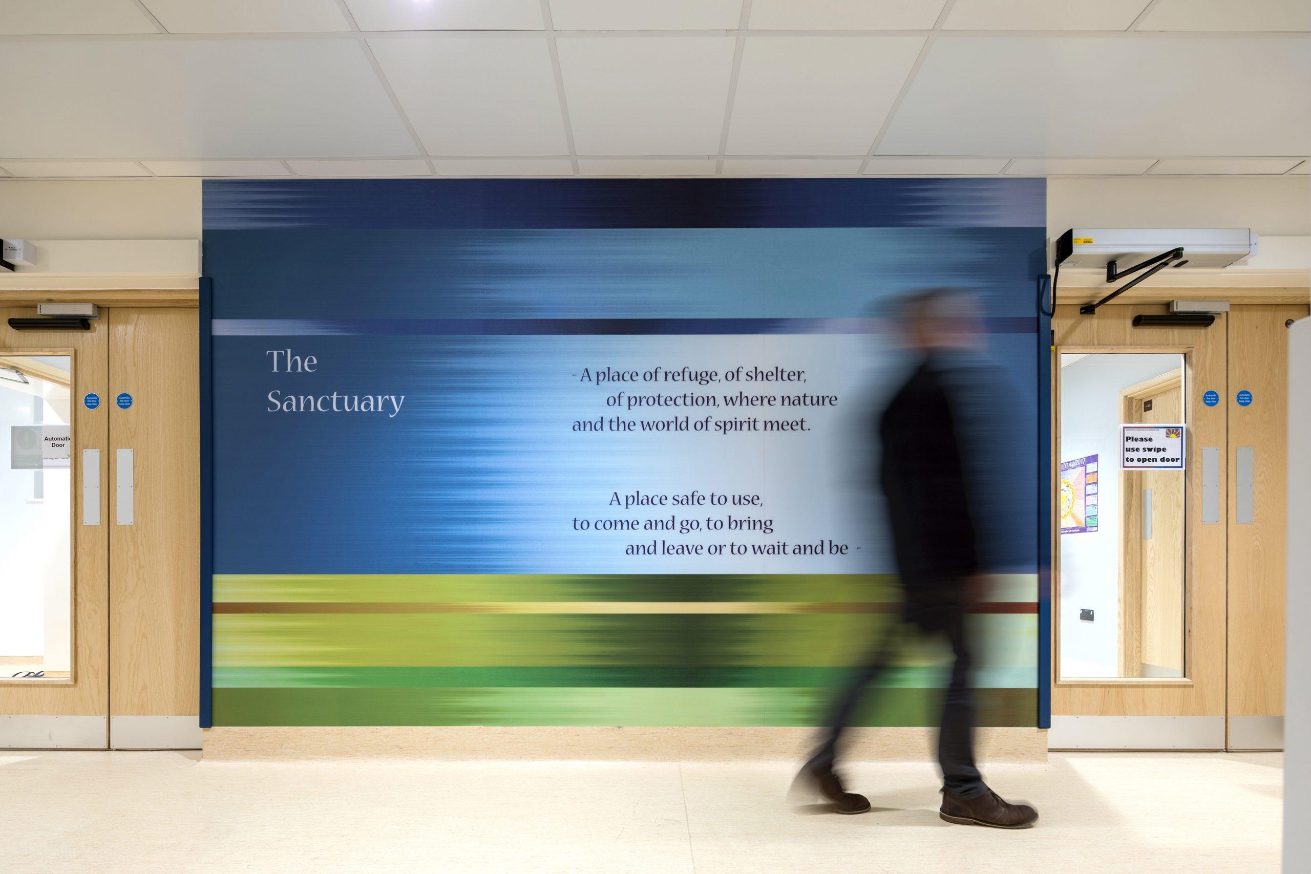 Sea, Sky, Forest, Sun – The Sanctuary Space – Bristol Royal Infirmary