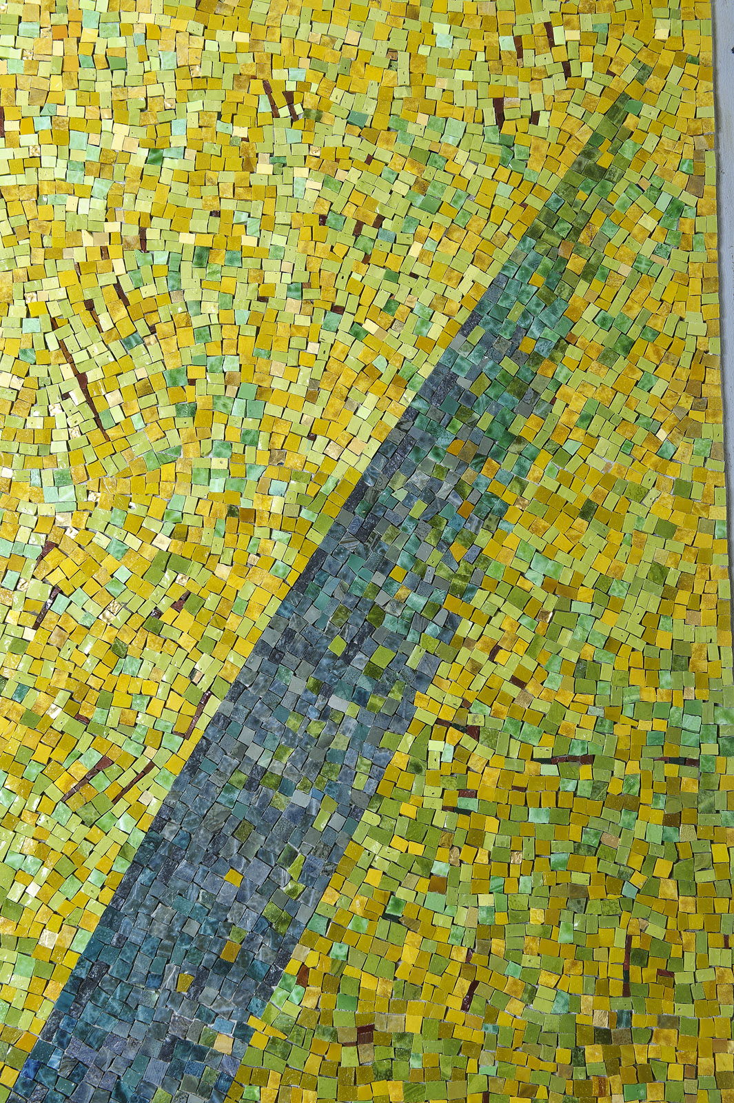 Elevator Lobby Mosaics