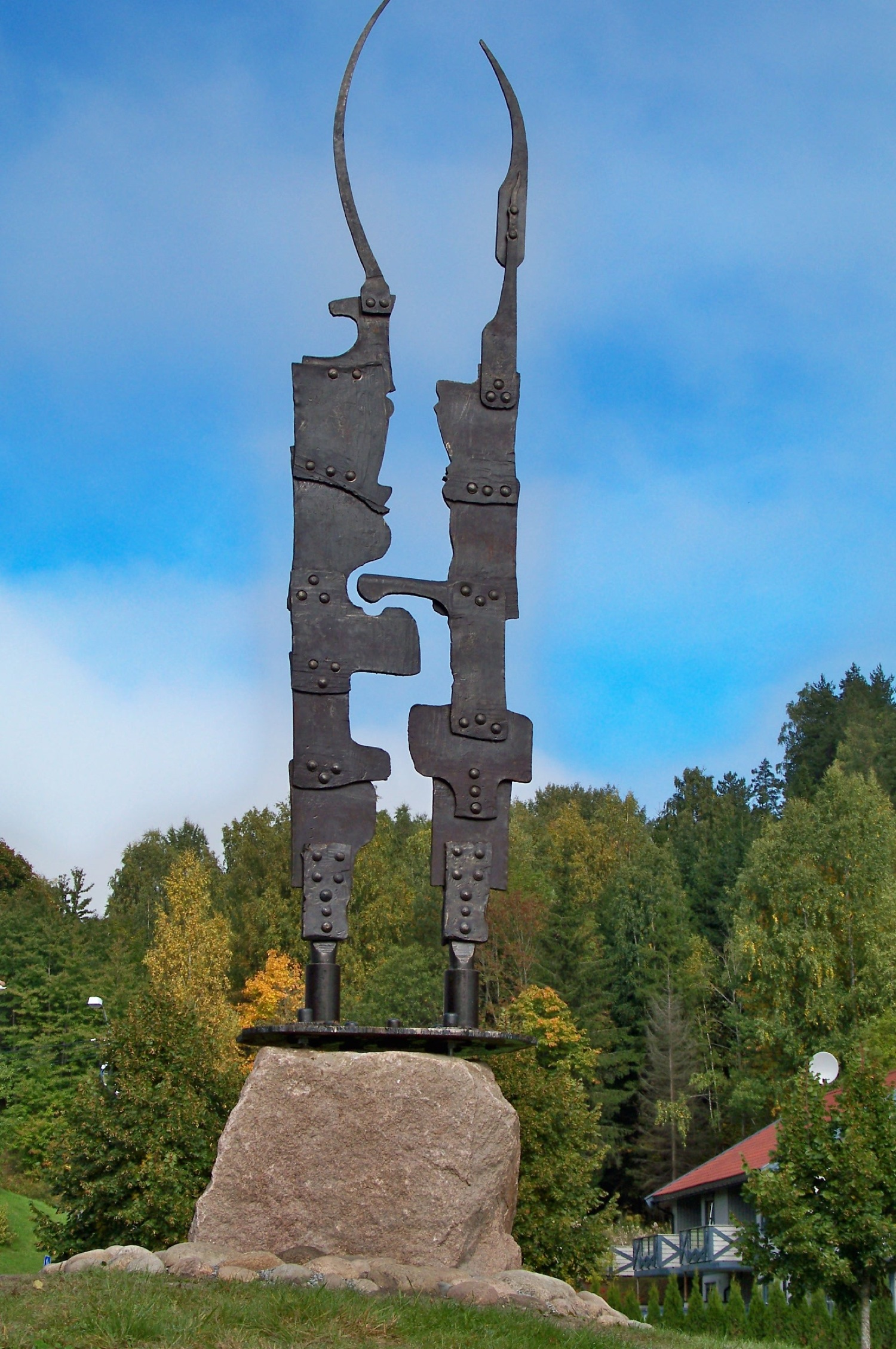 Open Air Forged Sculpture Gallery