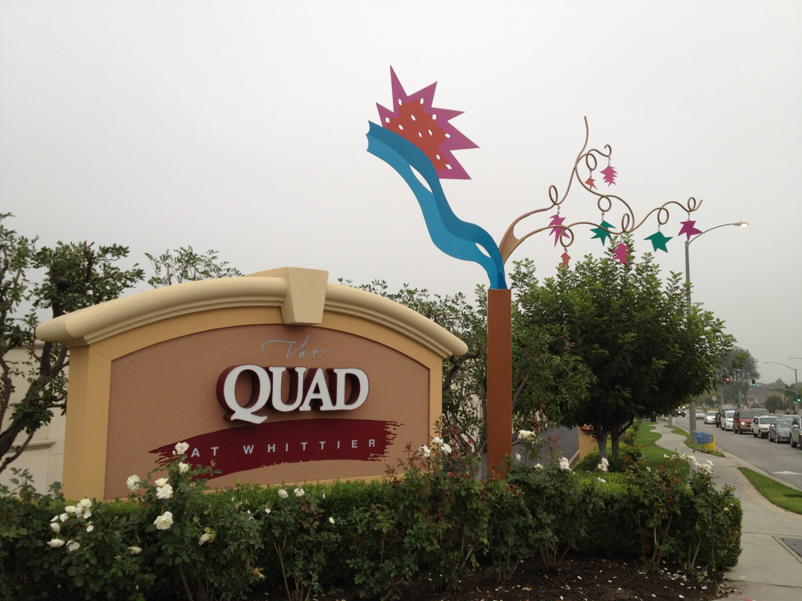 Welcome Friends forThe Quad and City of Whittier