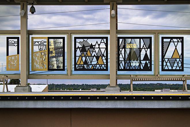 Denver RTD Gold Line Wind Screens