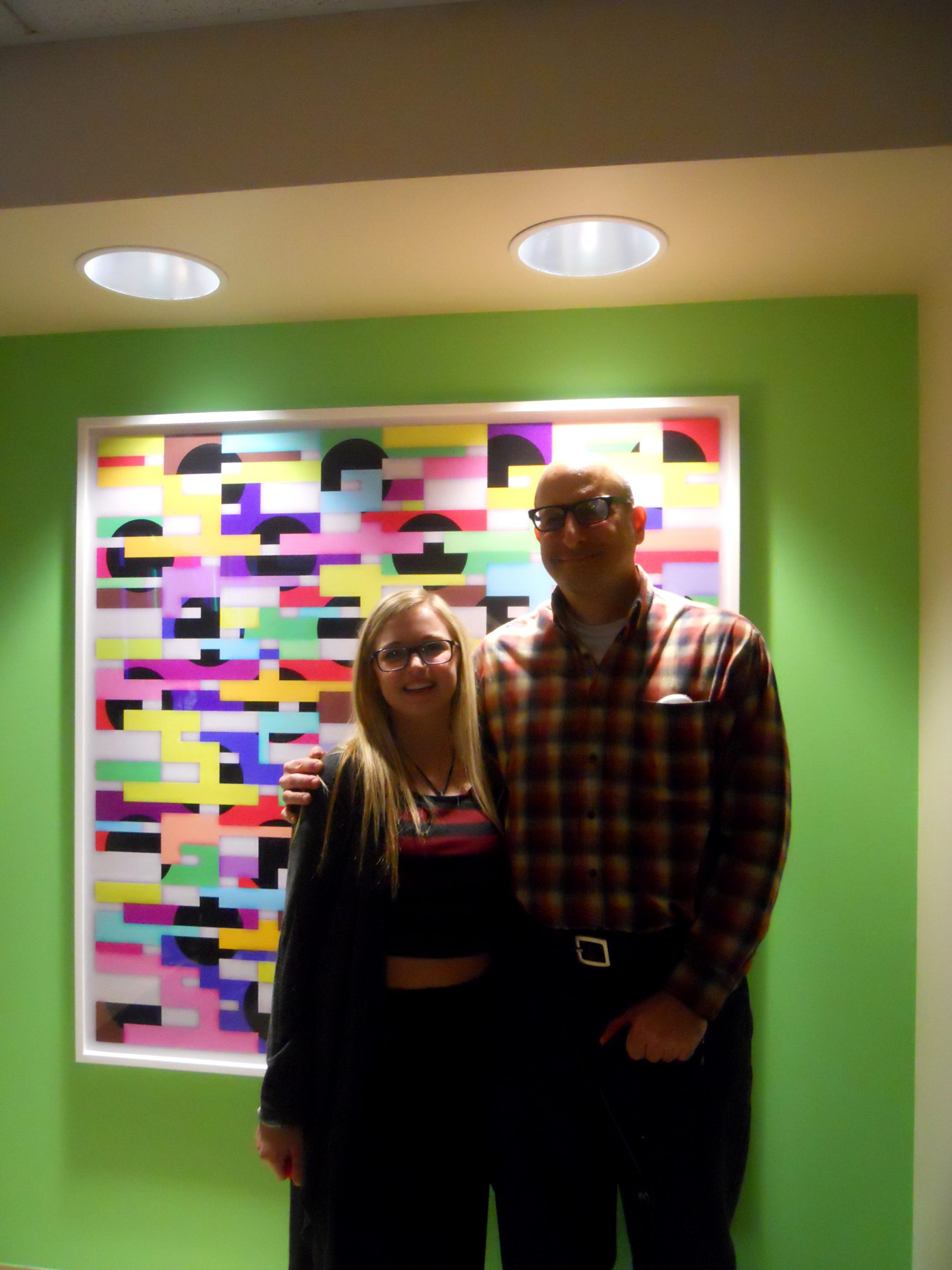Wall Art Greeting to Cystic Fibrosis Center