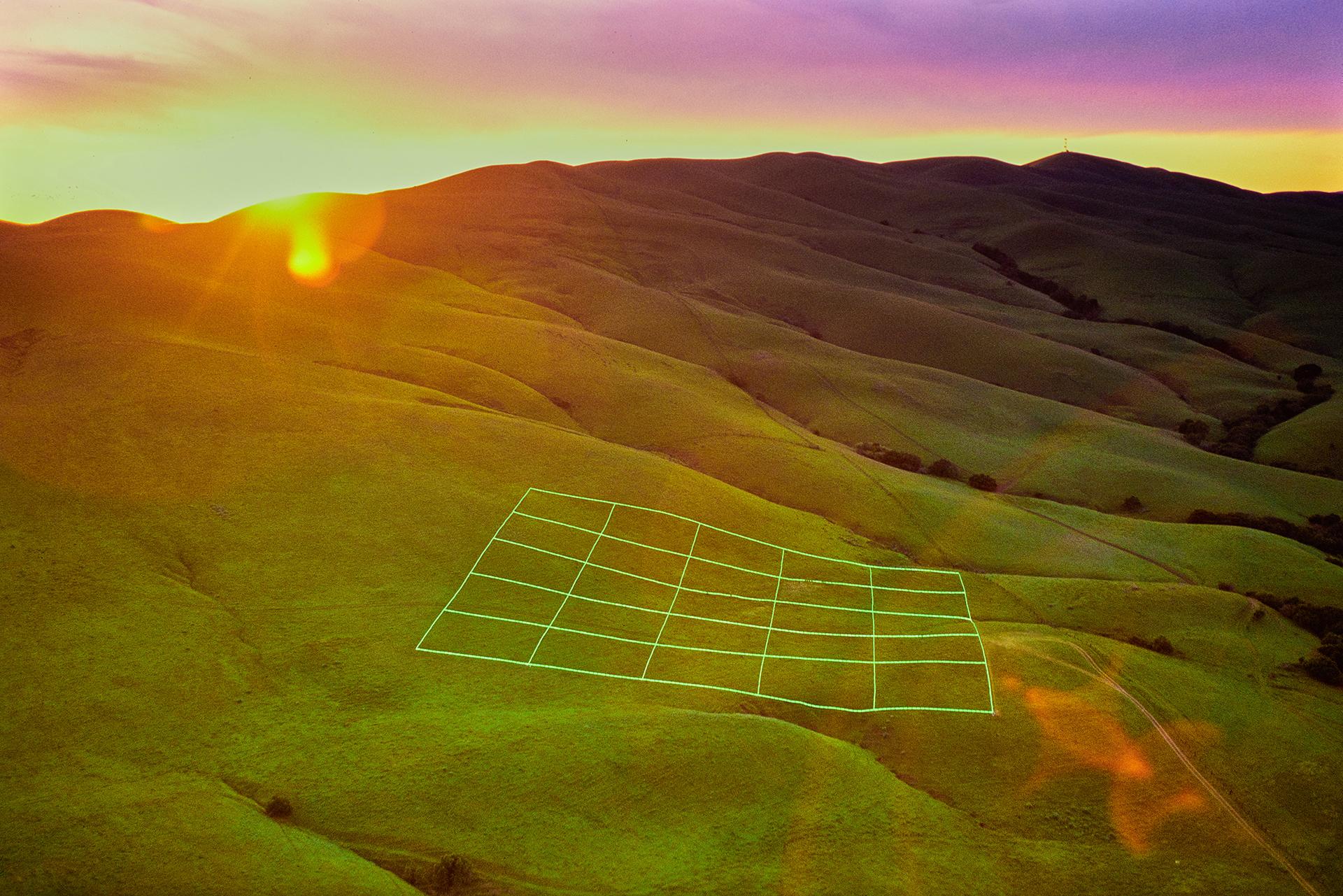 Luminous Earth Grid