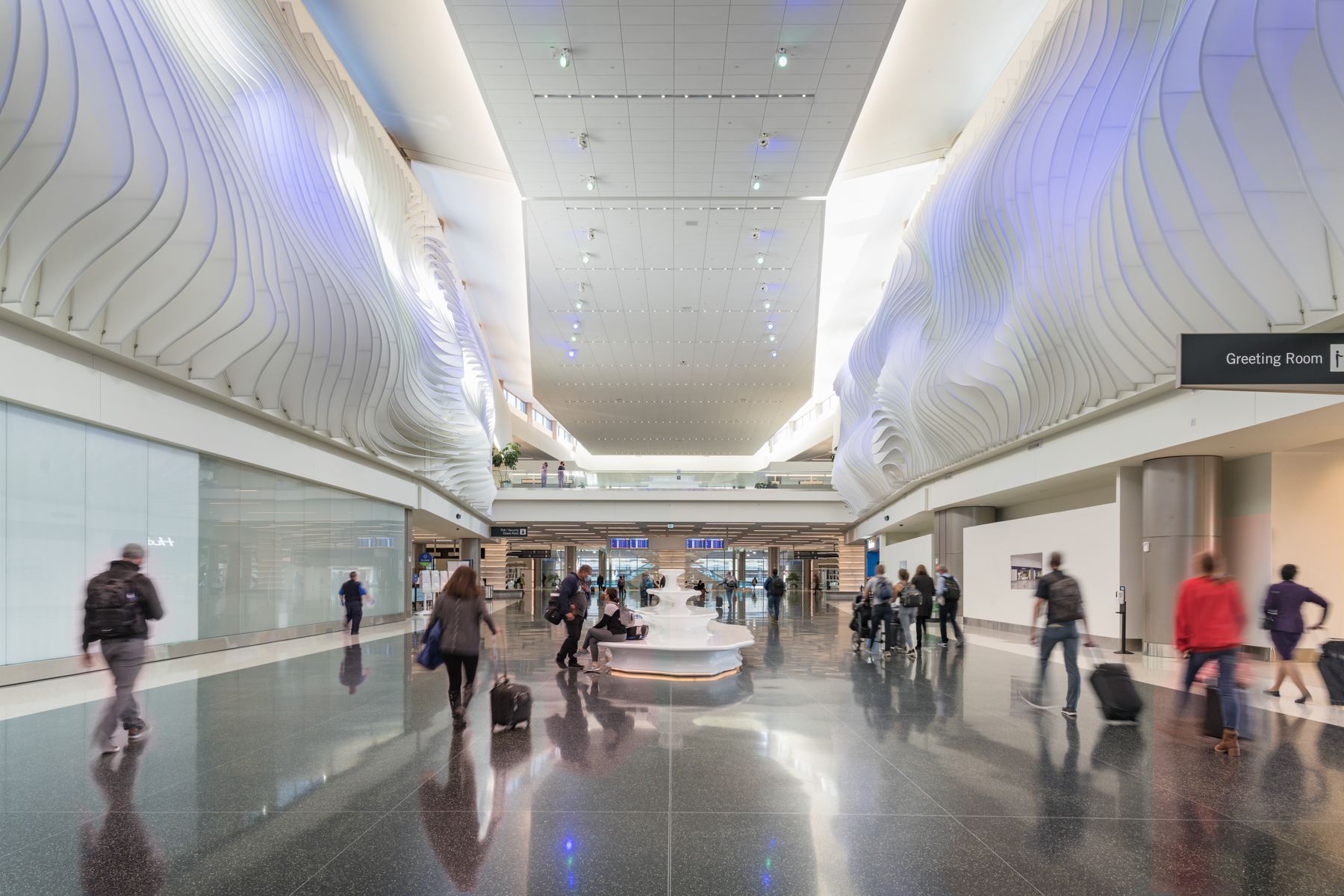 Salt Lake City Int'l Airport – The Canyon