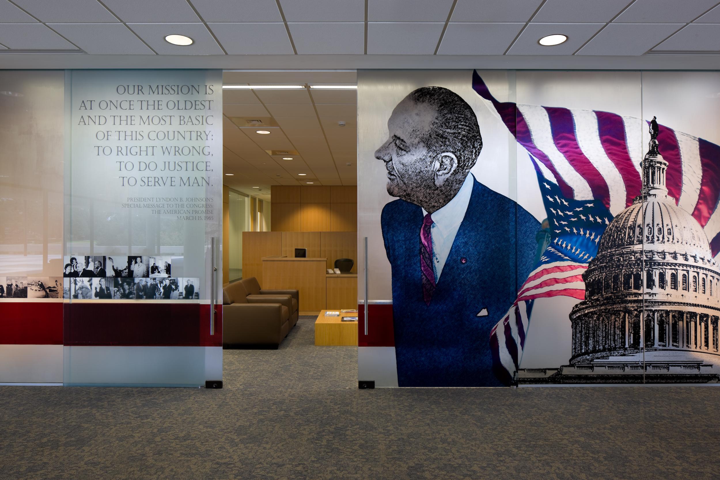 LBJ School of Public Affairs [Main Floor]