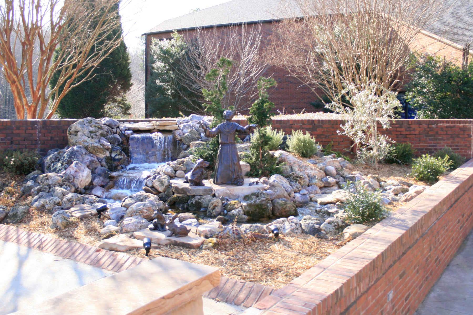 Welcoming Prayer Garden