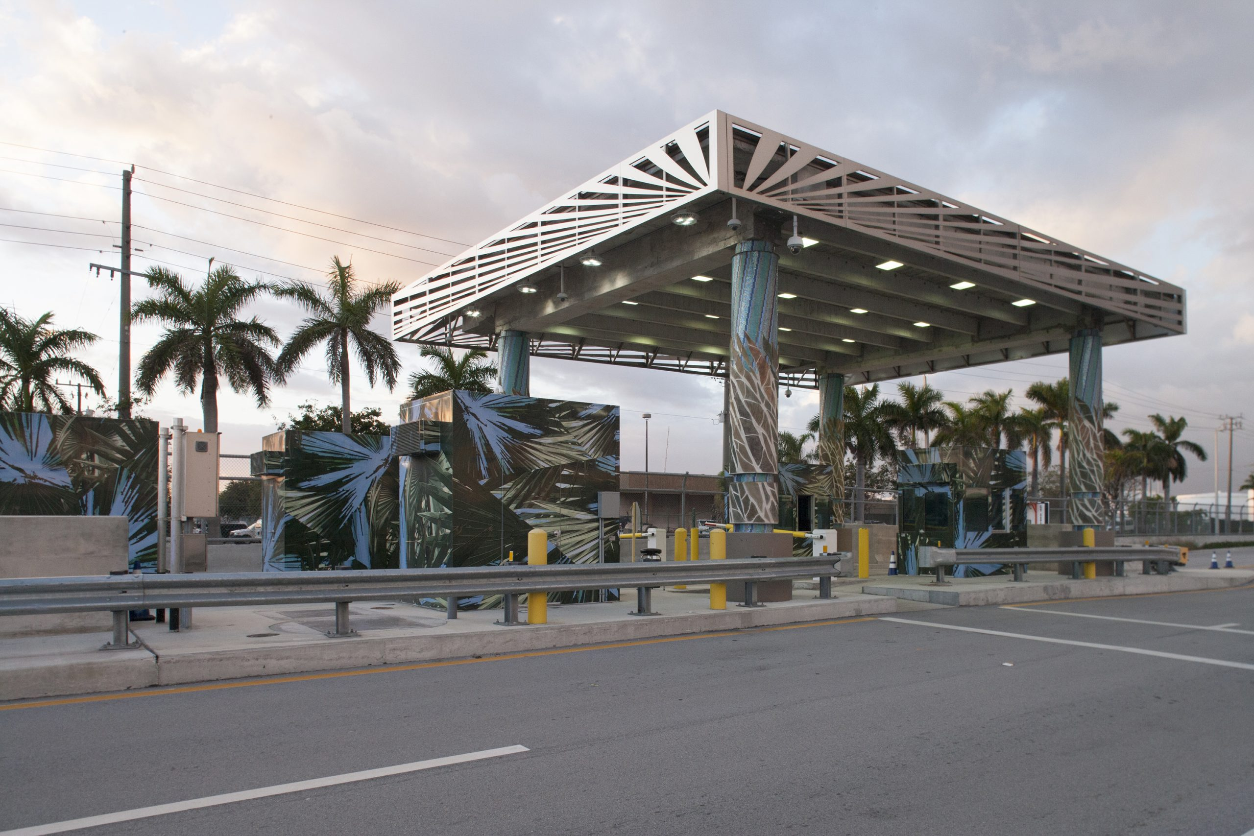 """""""Welcome to Port Everglades"""" Traffic Security Checkpoint"""