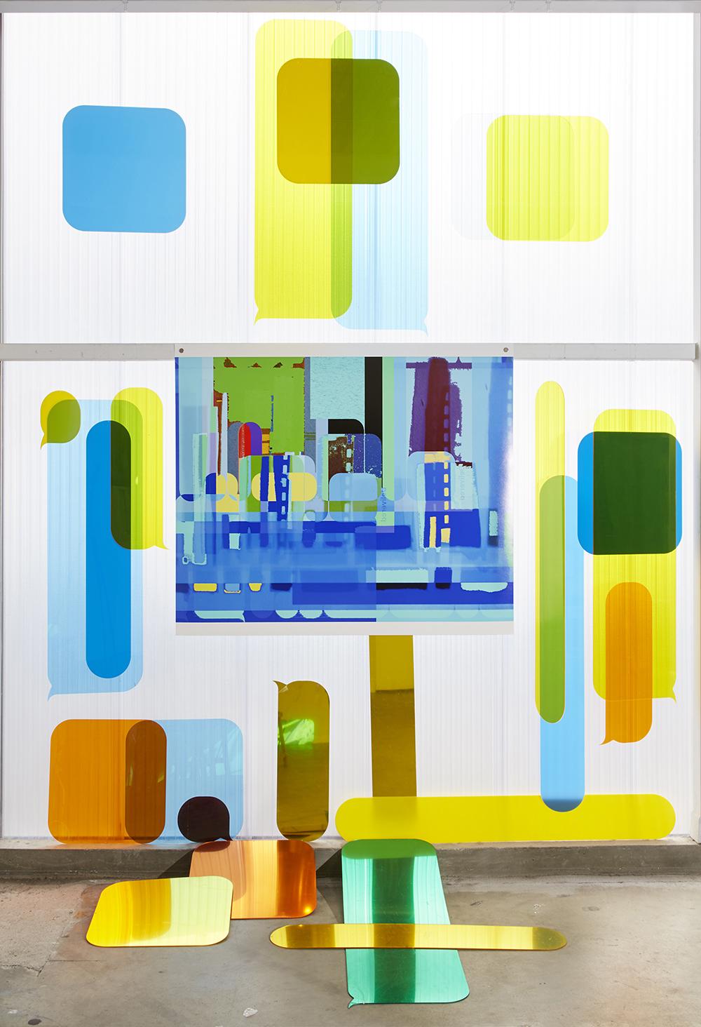 """t e x t s c a p e"" Exhibition at Canopy Austin"